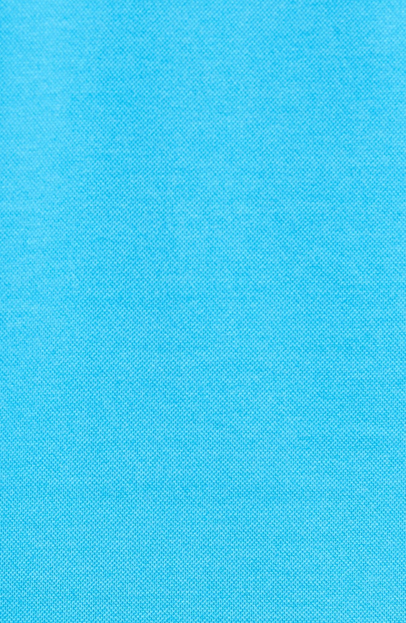 The Perfect Piqué Polo,                             Alternate thumbnail 5, color,                             Onda Blue