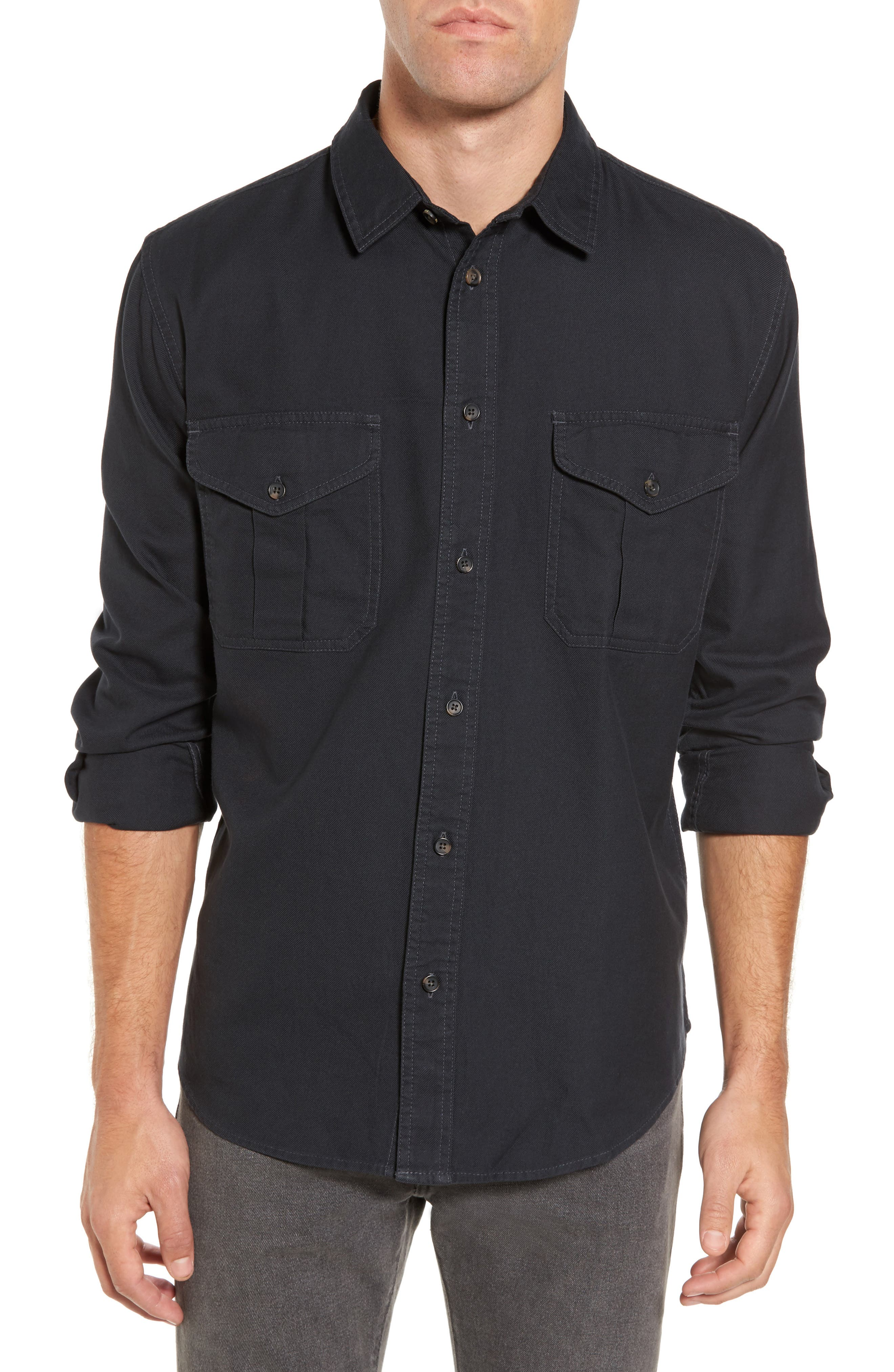 Filson Alaskan Guide Regular Fit Twill Shirt