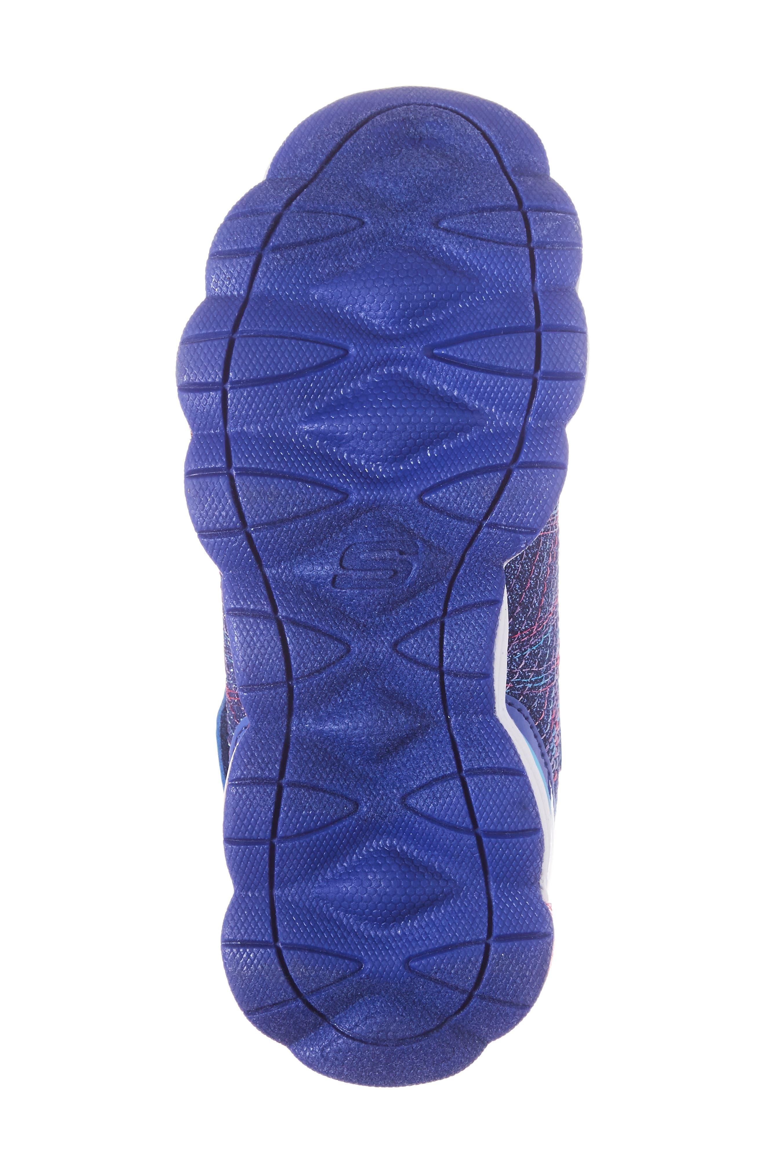 Alternate Image 6  - SKECHERS Glimmer Lights Sneakers (Toddler & Little Kid)