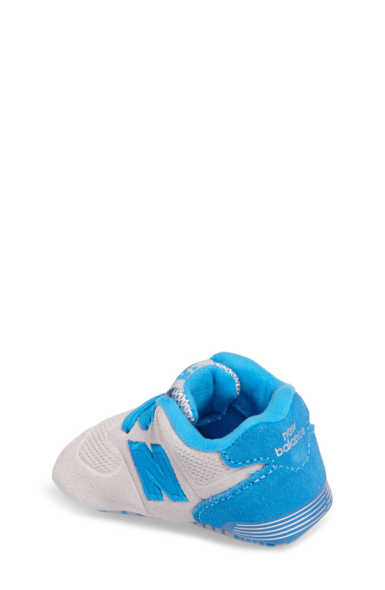 547 Crib Shoe,                             Alternate thumbnail 2, color,                             Blue/ Grey