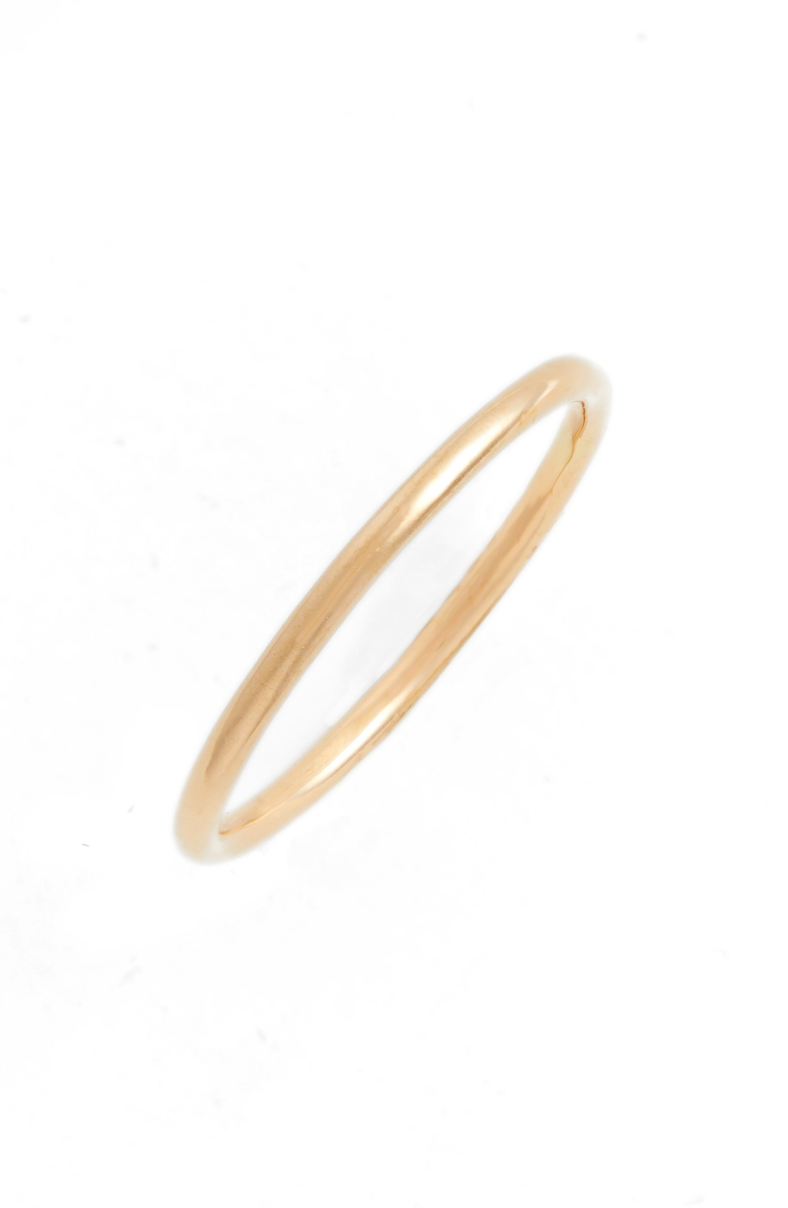 Alternate Image 1 Selected - Zoë Chicco Medium Stacking Ring