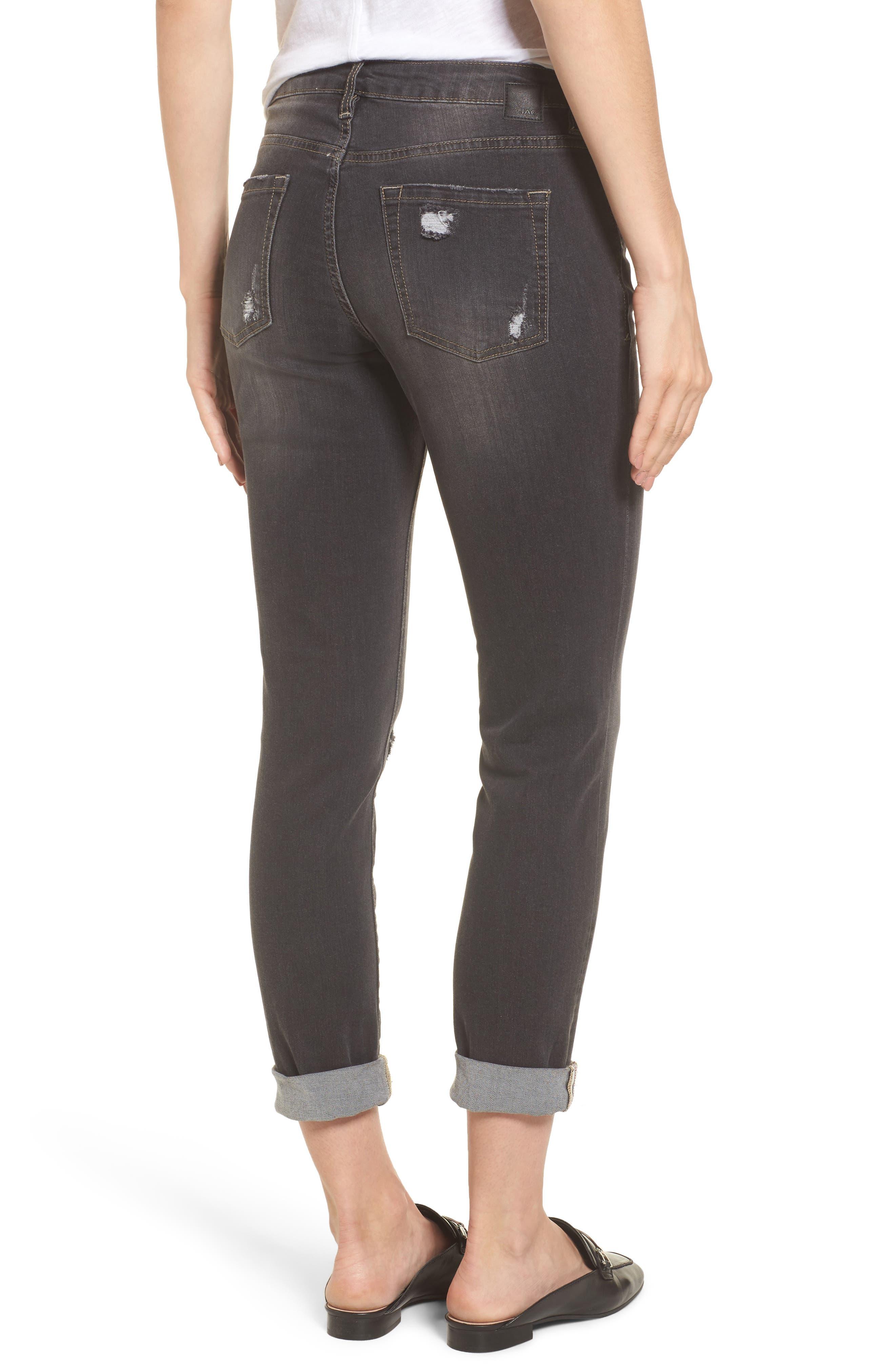 Alternate Image 2  - Jag Jeans Carter Cuffed Girlfriend Jeans