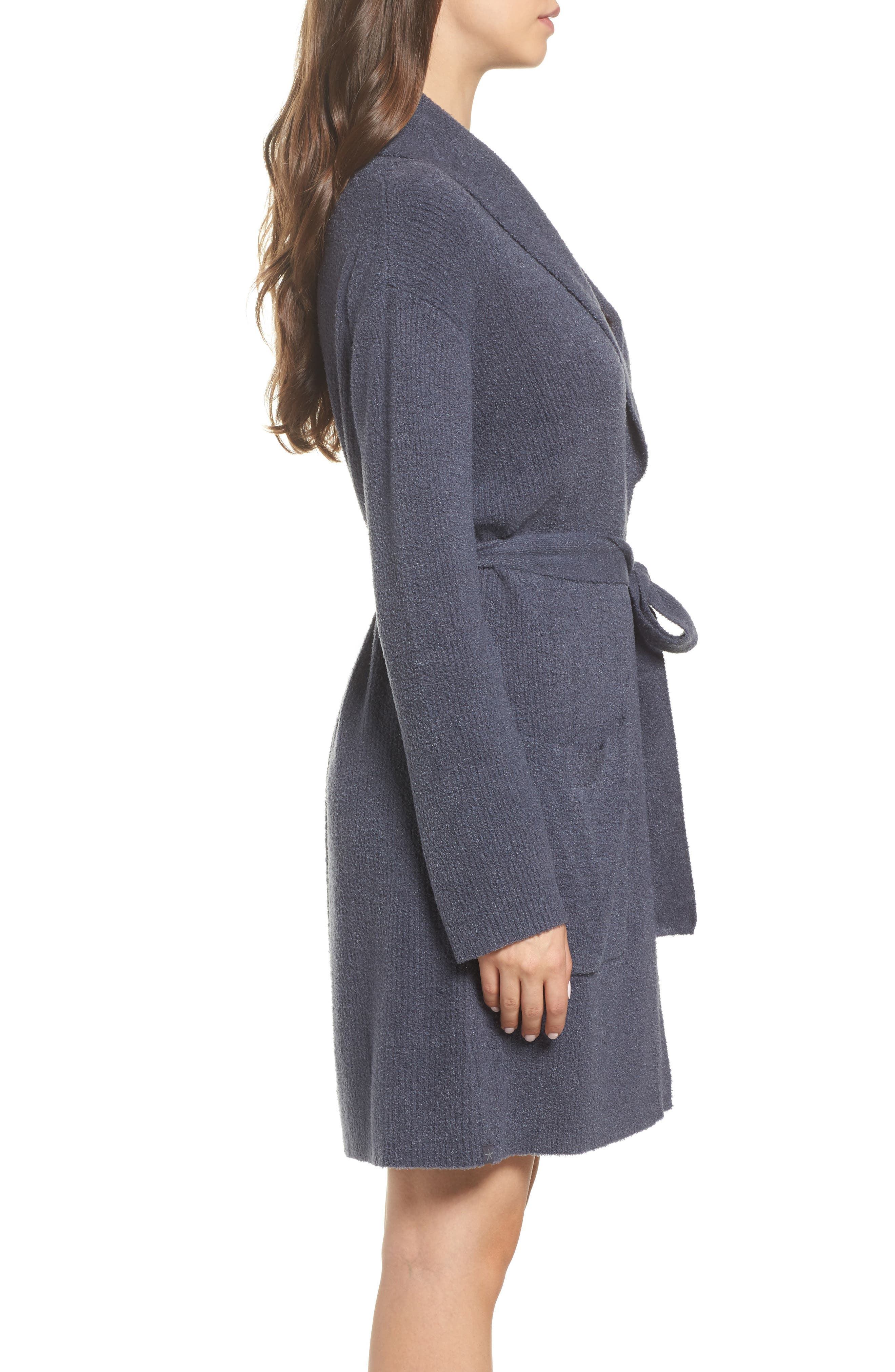 Alternate Image 3  - Barefoot Dreams CozyChic Lite® Short Robe