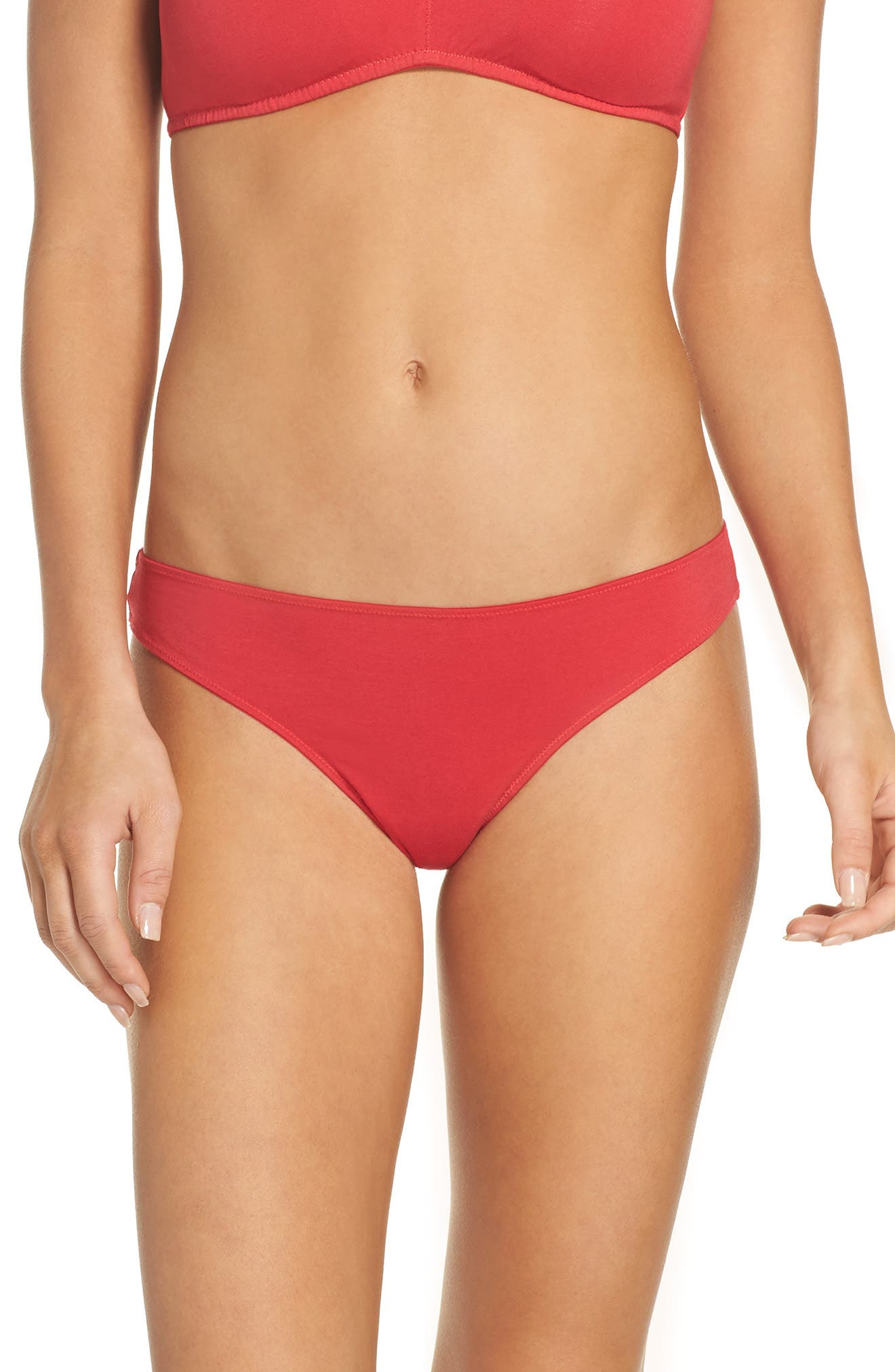 Alternate Image 1 Selected - Madewell Jersey Thong