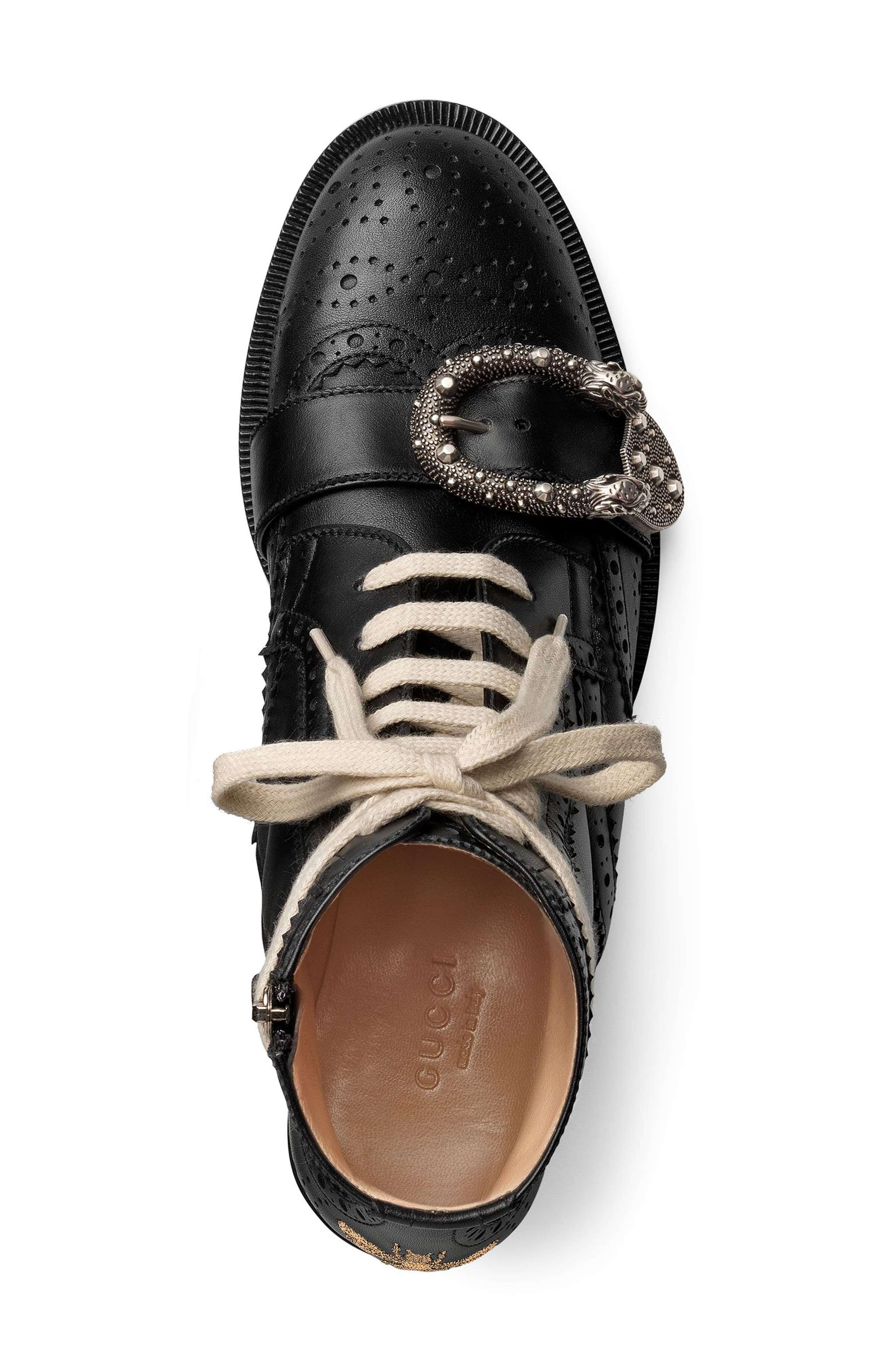 Alternate Image 3  - Gucci Queercore Combat Boot (Women)