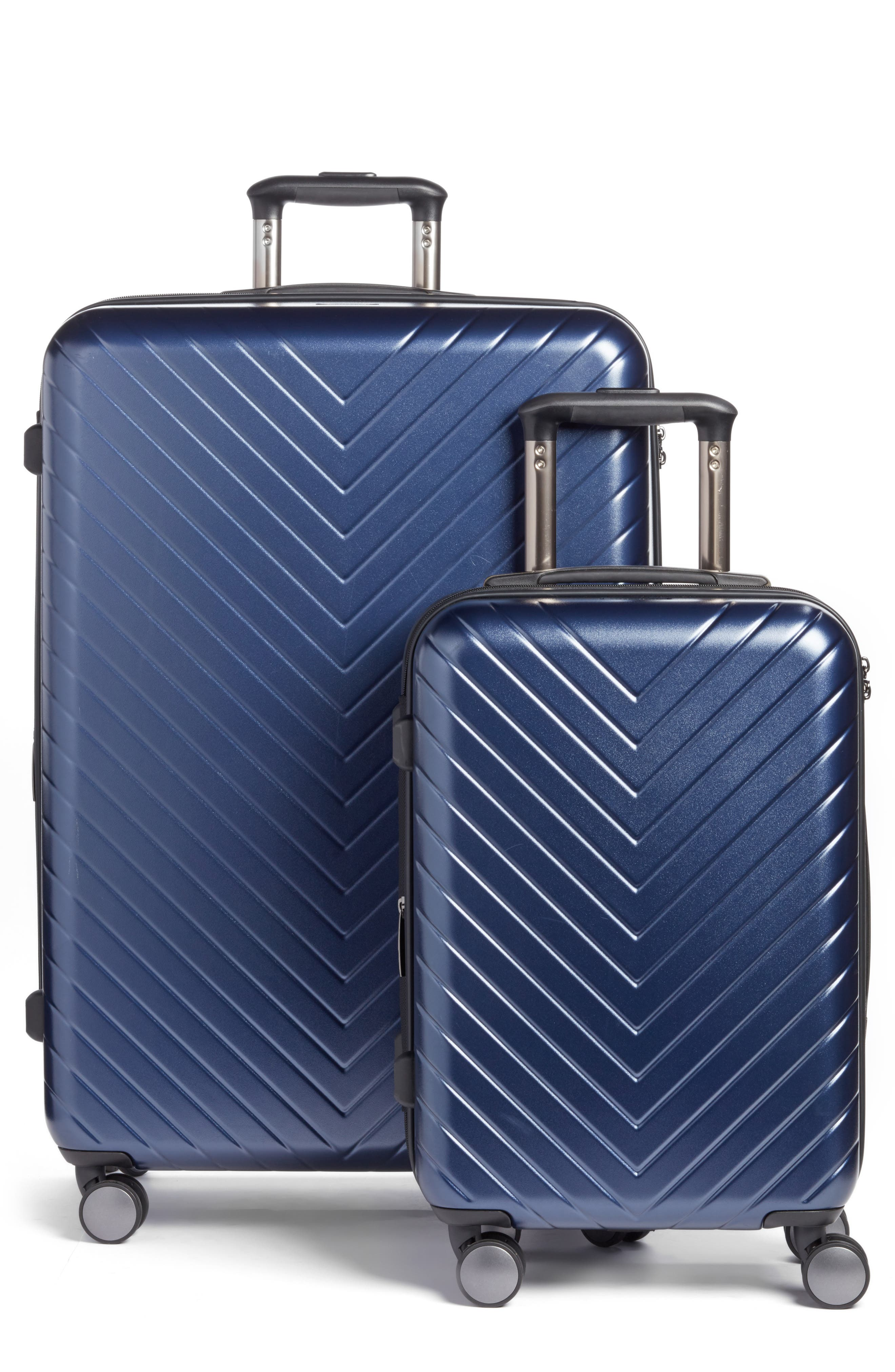 Main Image - Nordstrom Chevron 29-Inch & 20-Inch Spinner Luggage Set ($408 Value)