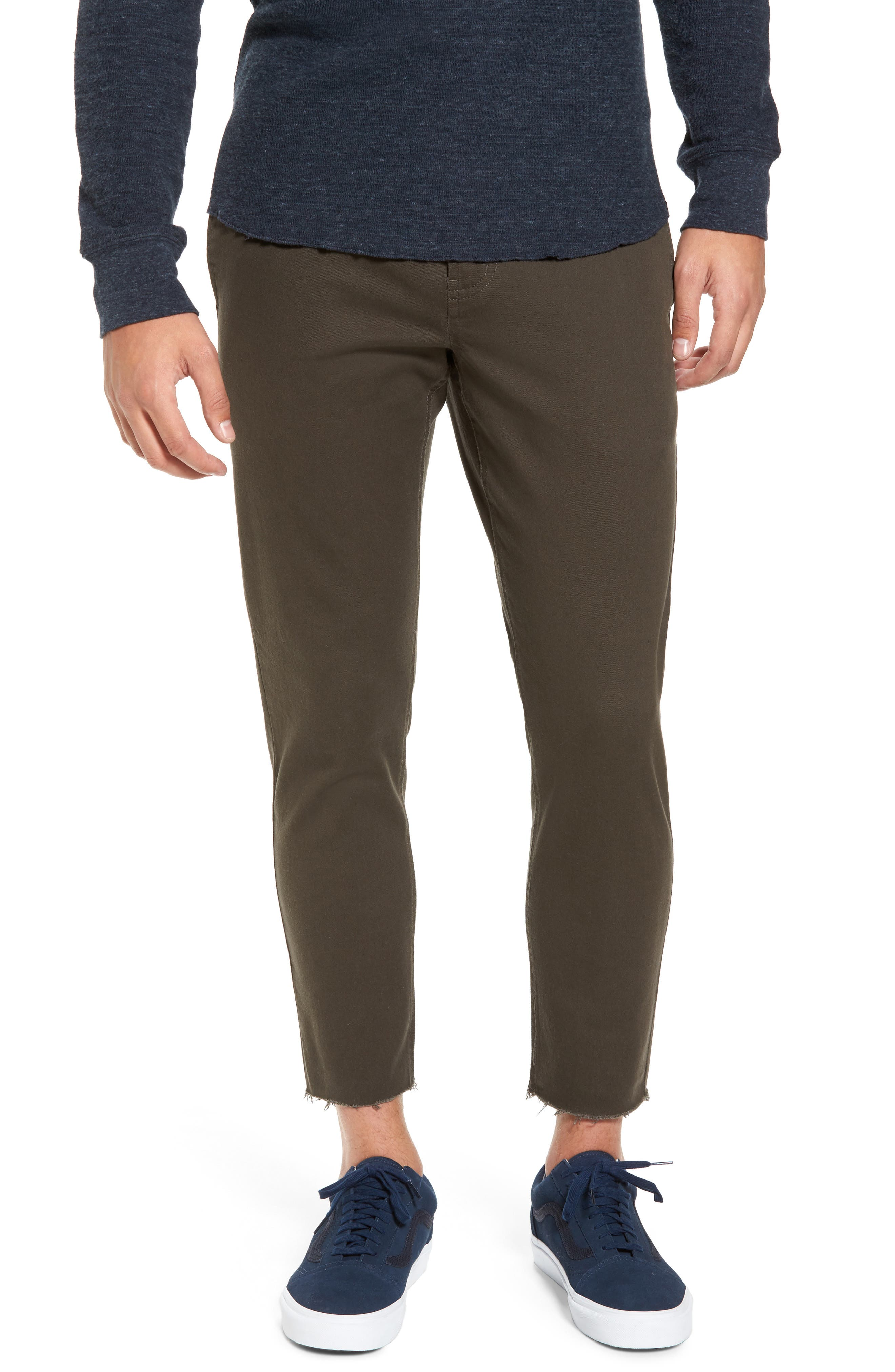 Barney Cools B.Line Crop Slim Fit Chinos