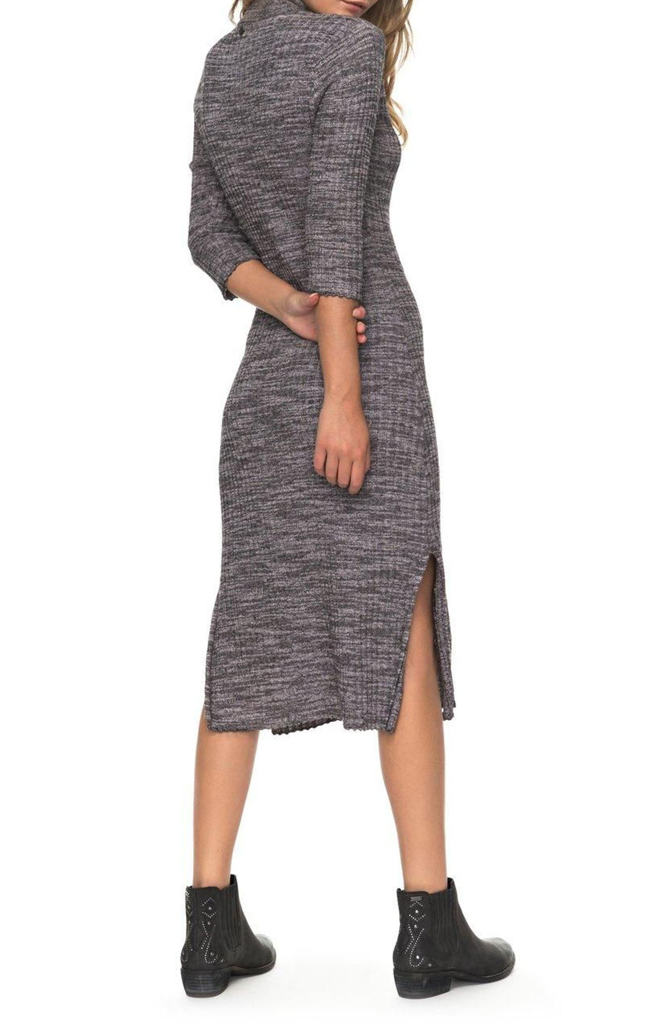 Alternate Image 2  - Roxy Hello Fall Sweater Dress