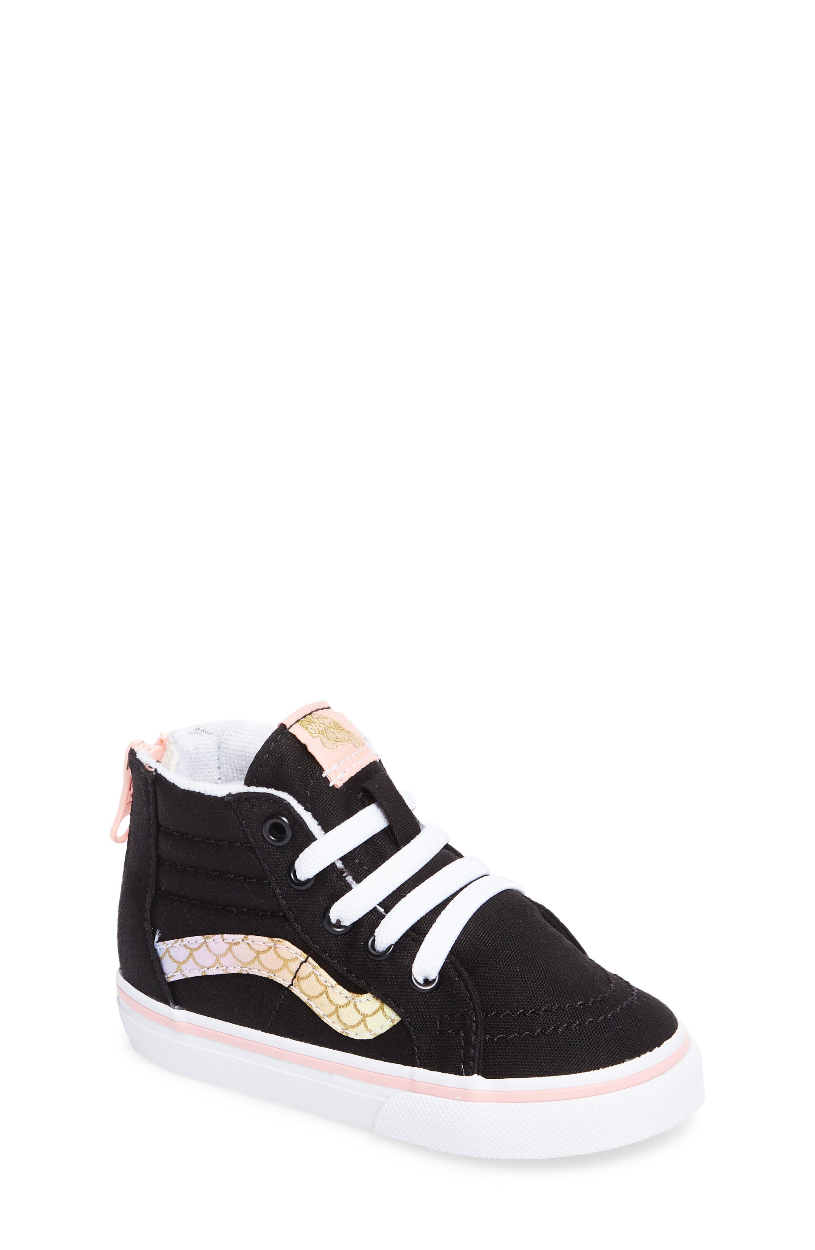 Vans Classic Sk8-Hi Sneaker (Baby, Walker & Toddler)