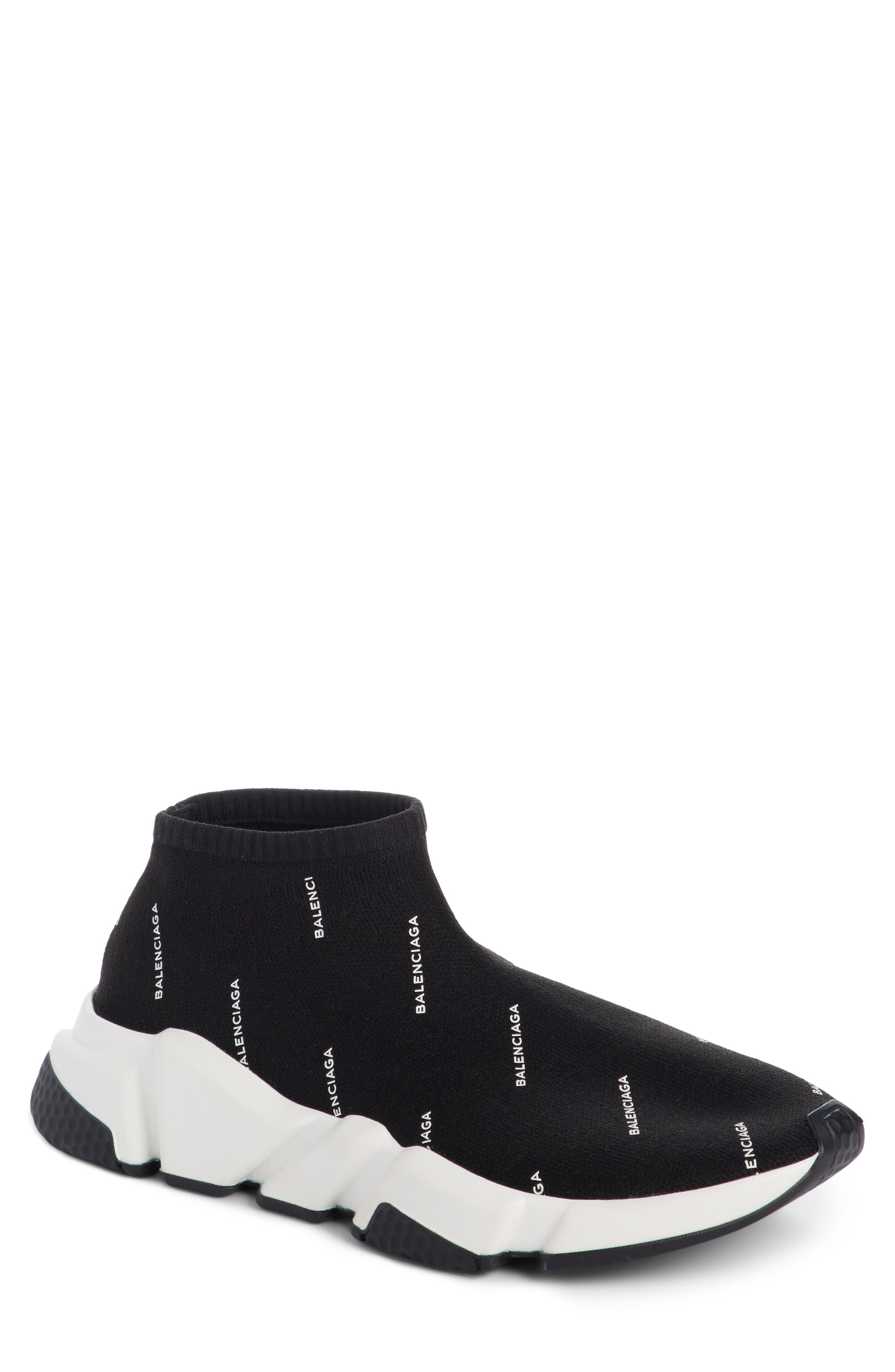 Low Speed Sneaker,                         Main,                         color, Black/ White