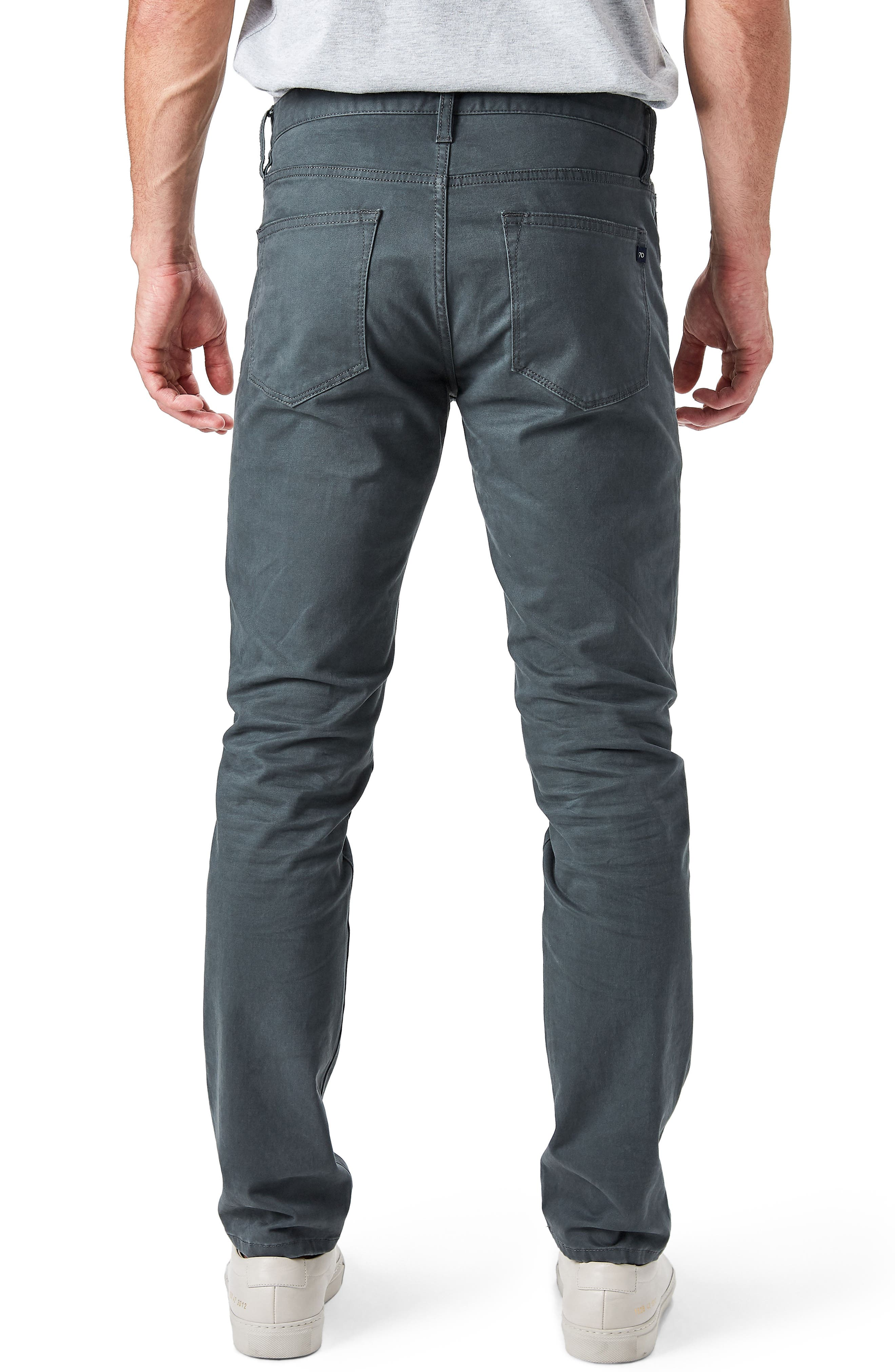 Alternate Image 2  - 7 Diamonds Brushed Twill Five-Pocket Pants