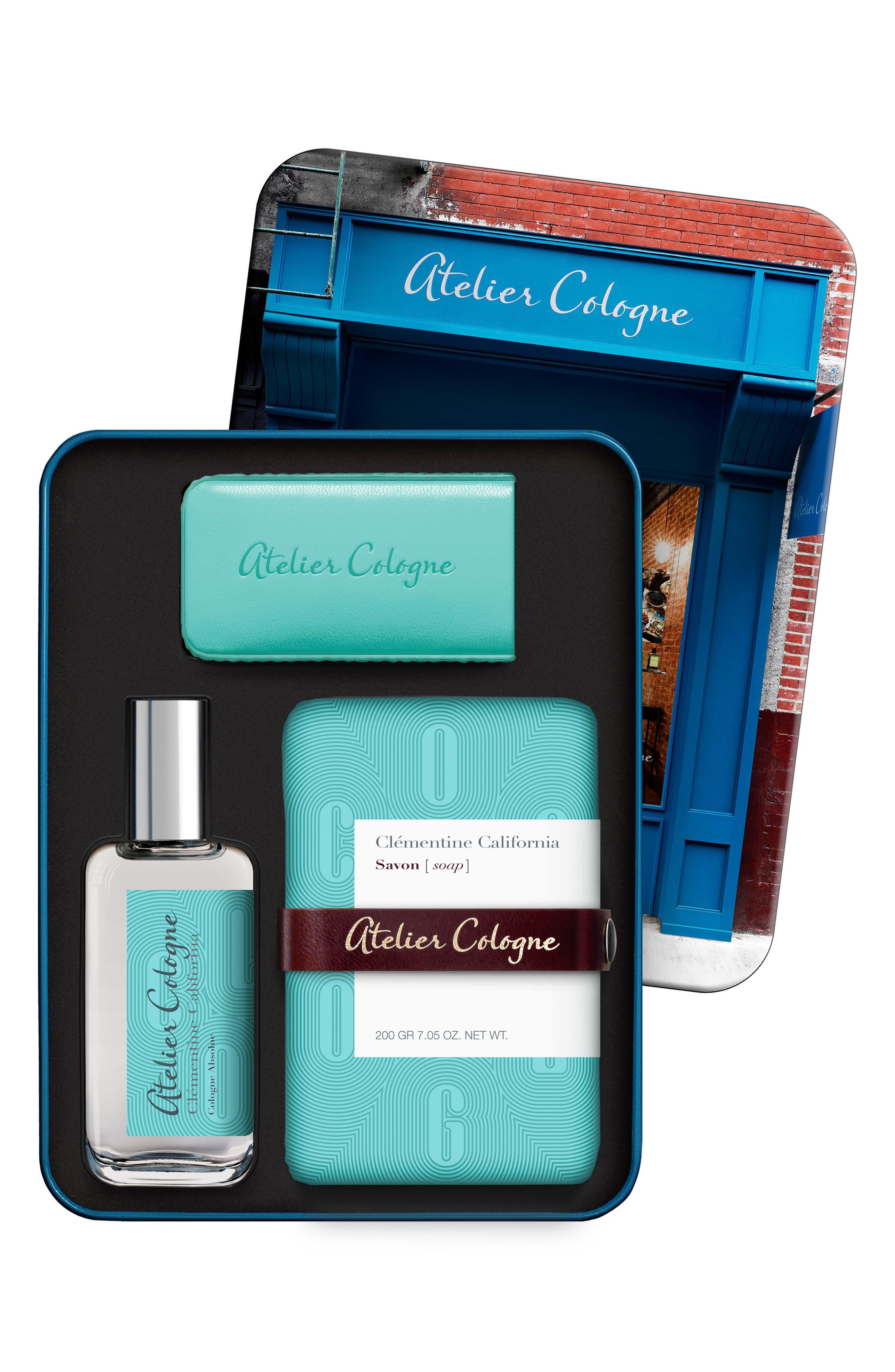 Alternate Image 1 Selected - Atelier Cologne Clémentine California Nécessaire Voyage Collection (Nordstrom Exclusive) ($120 Value)