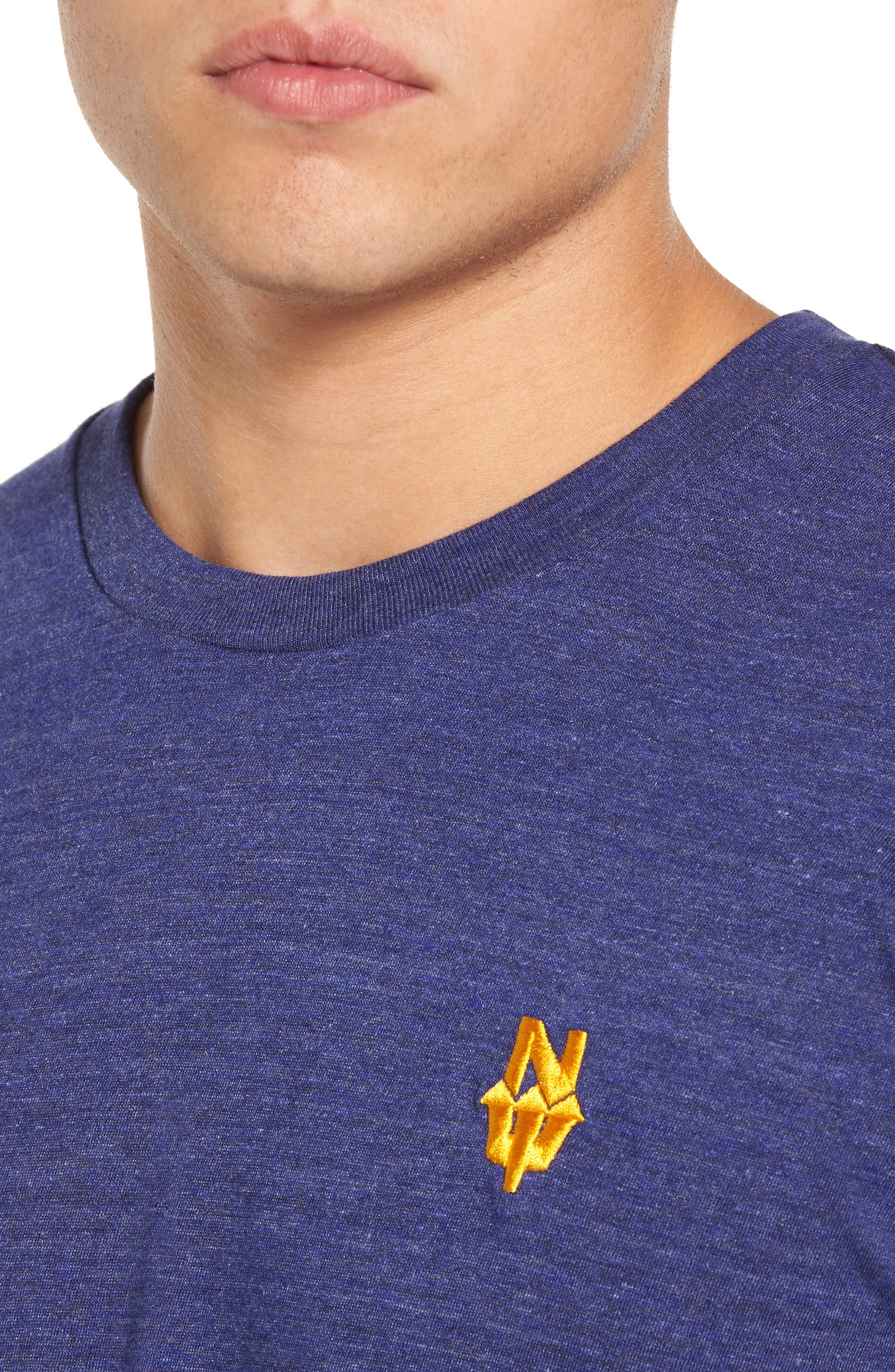 Alternate Image 4  - Casual Industrees NW Trident Embroidered T-Shirt