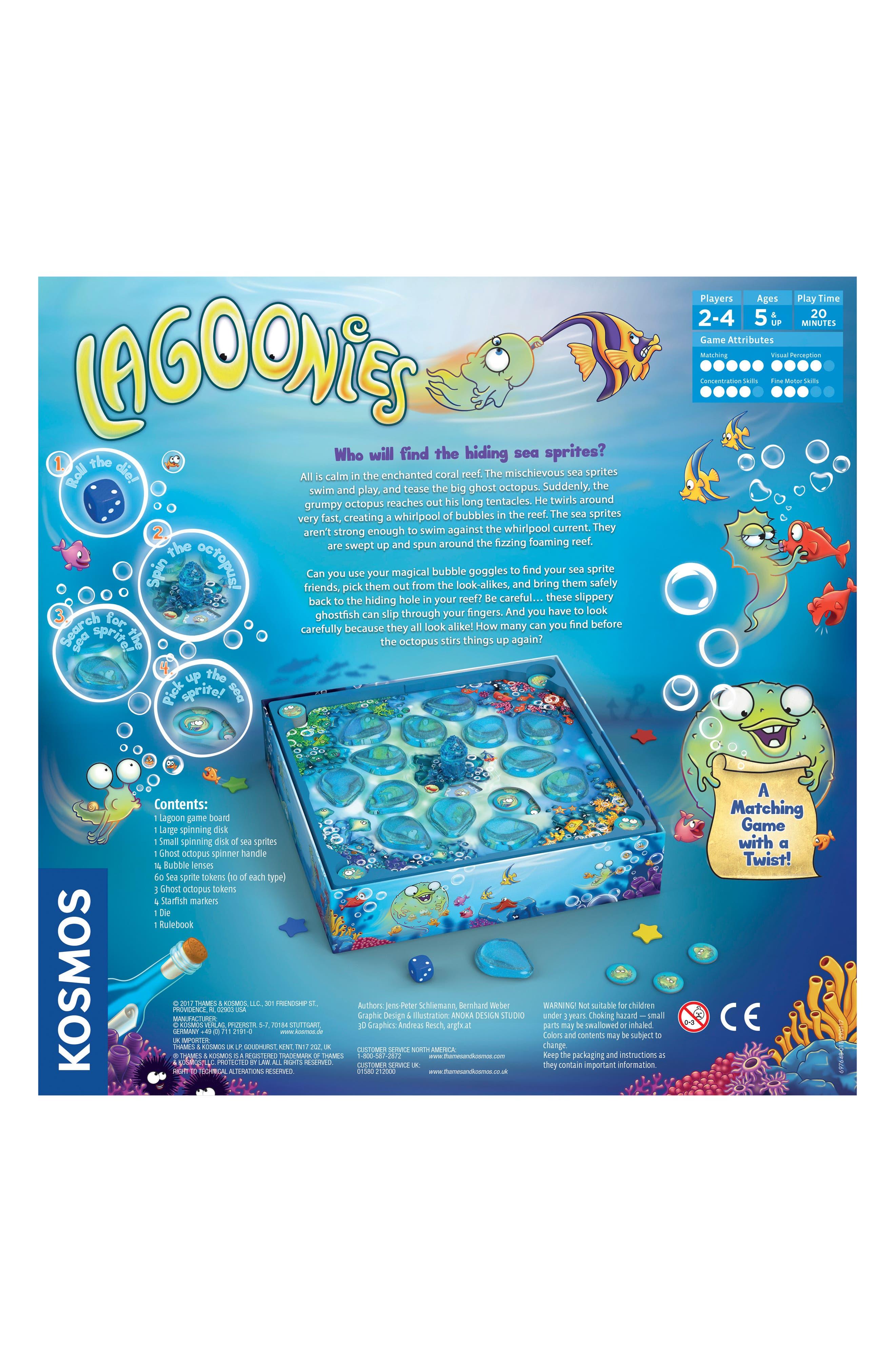 Lagoonies Board Game,                             Alternate thumbnail 3, color,                             Multi