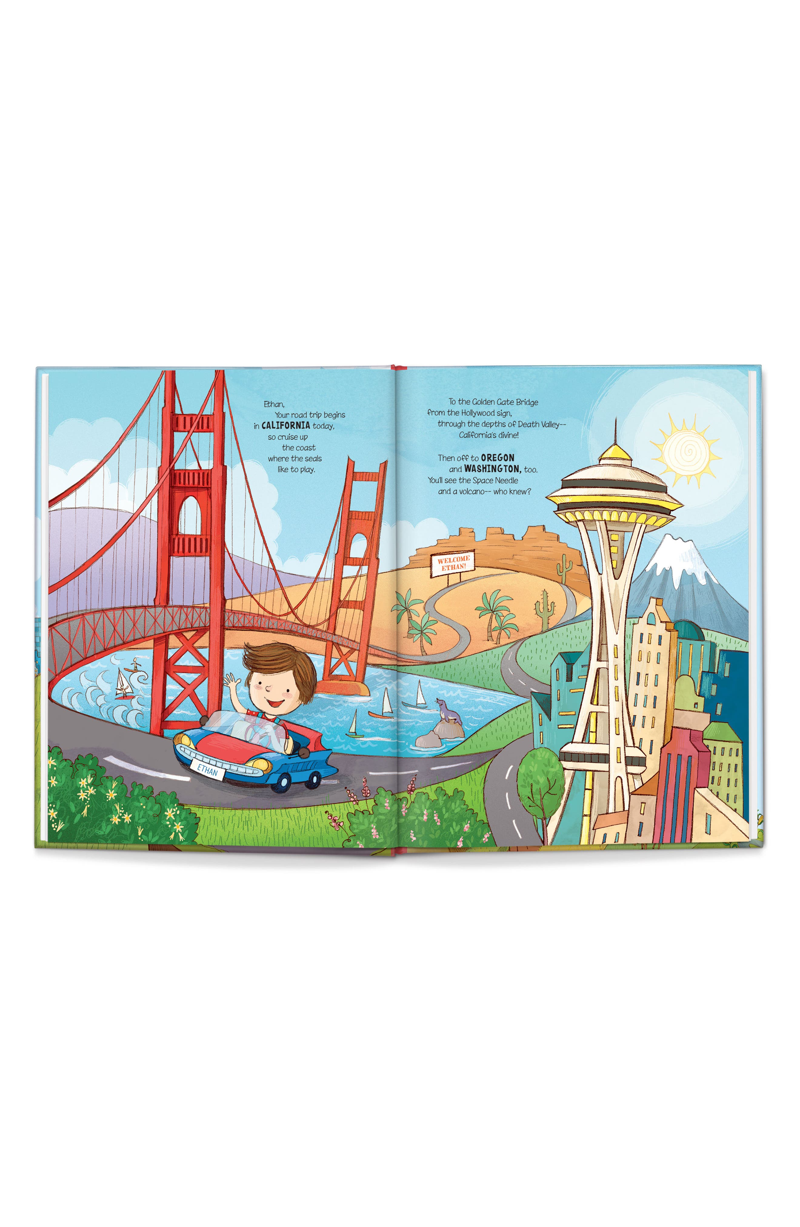 'My U.S.A. Road Trip!' Personalized Storybook,                             Alternate thumbnail 2, color,                             Washington