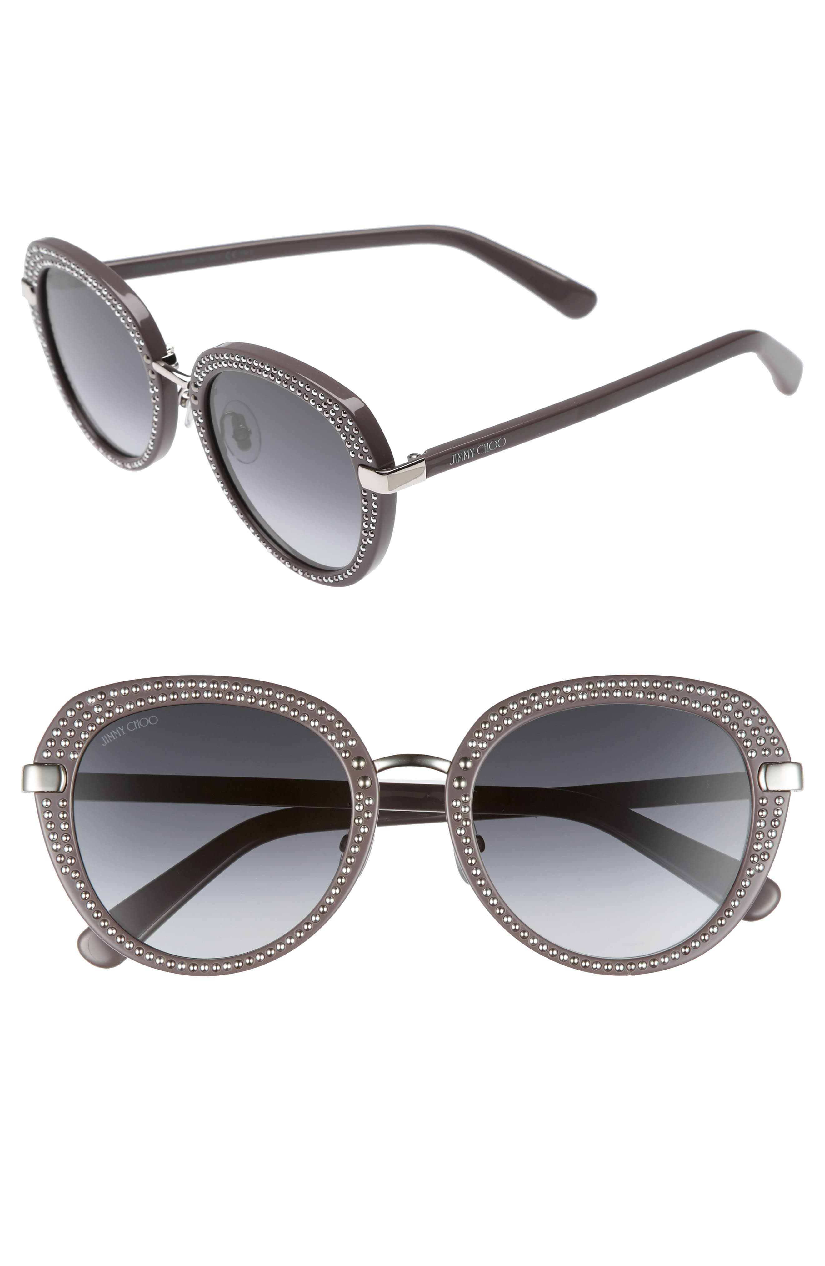 Jimmy Choo Moris 52mm Oversize Sunglasses