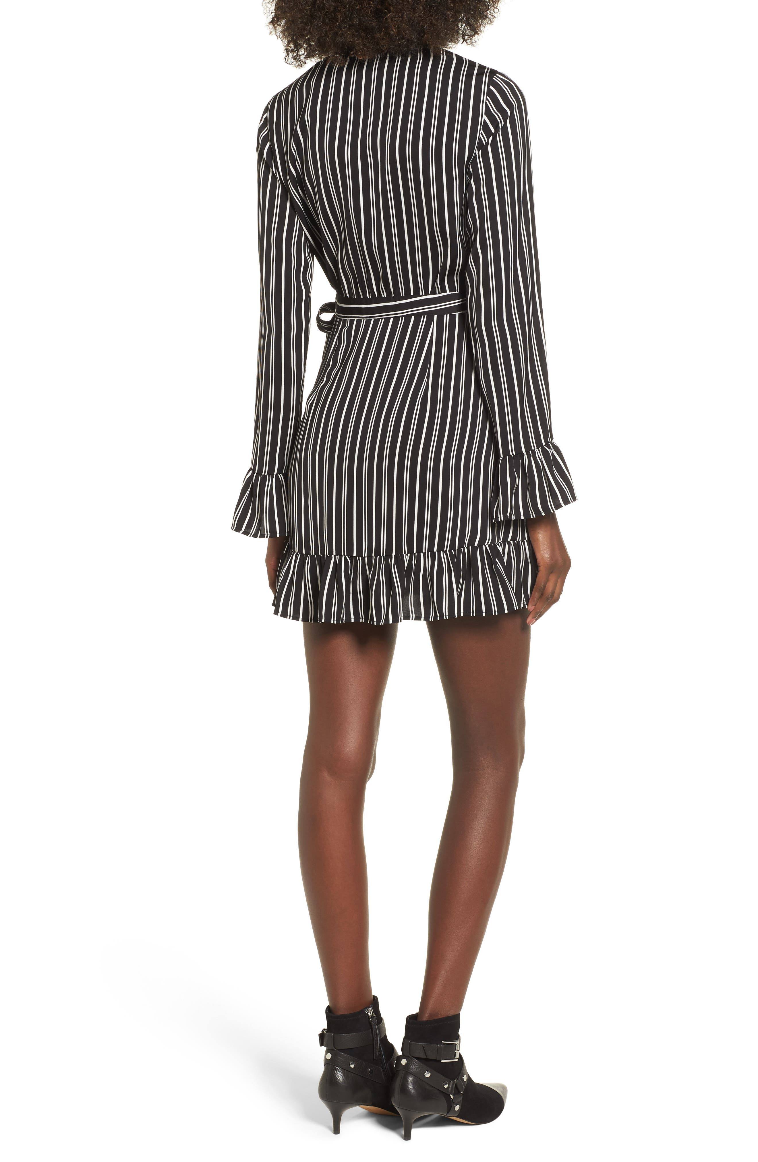 Alternate Image 2  - The Fifth Label Ophelia Stripe Wrap Dress