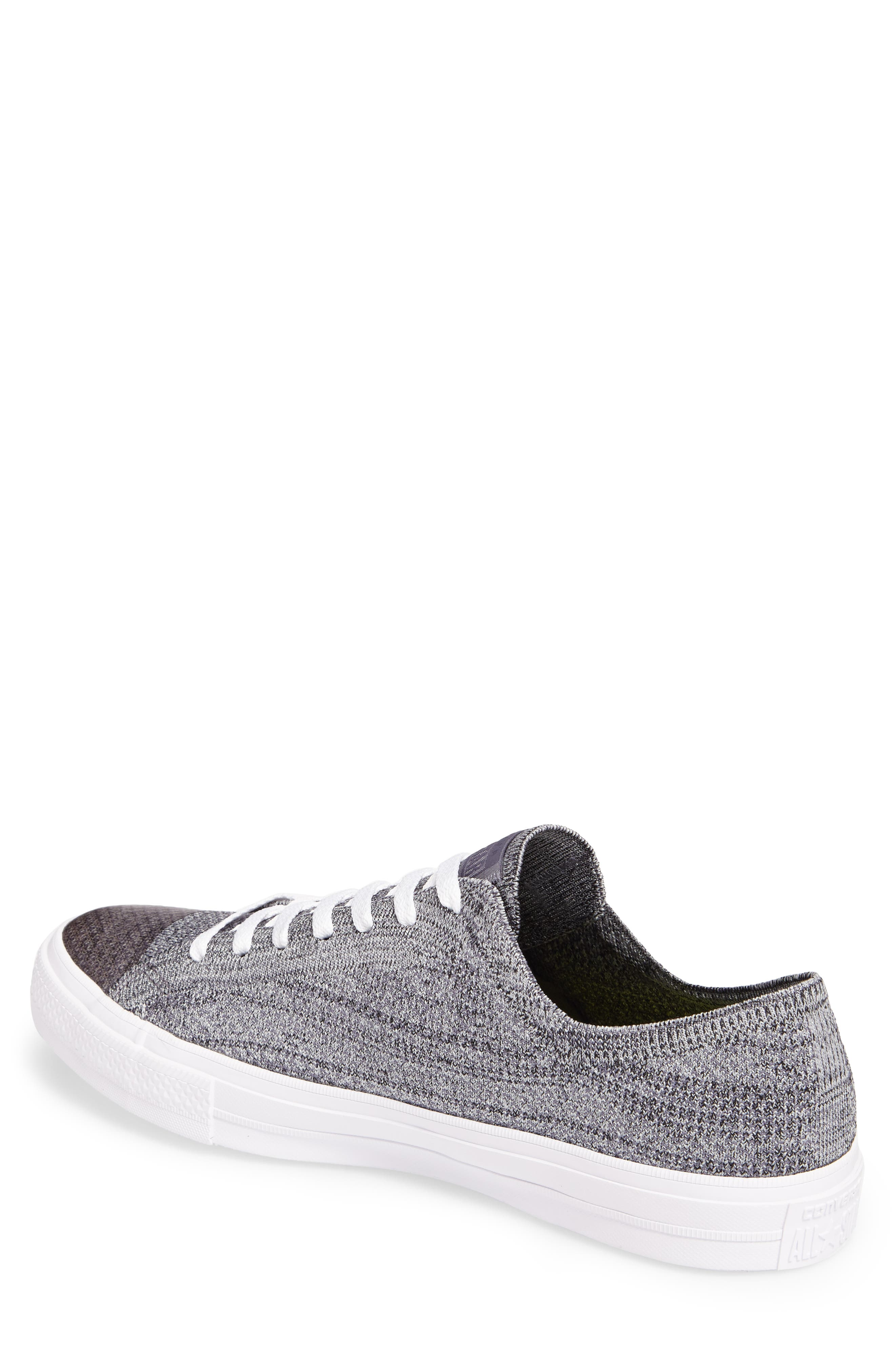 Chuck Taylor<sup>®</sup> All Star<sup>®</sup> Flyknit Sneaker,                             Alternate thumbnail 2, color,                             Carbon