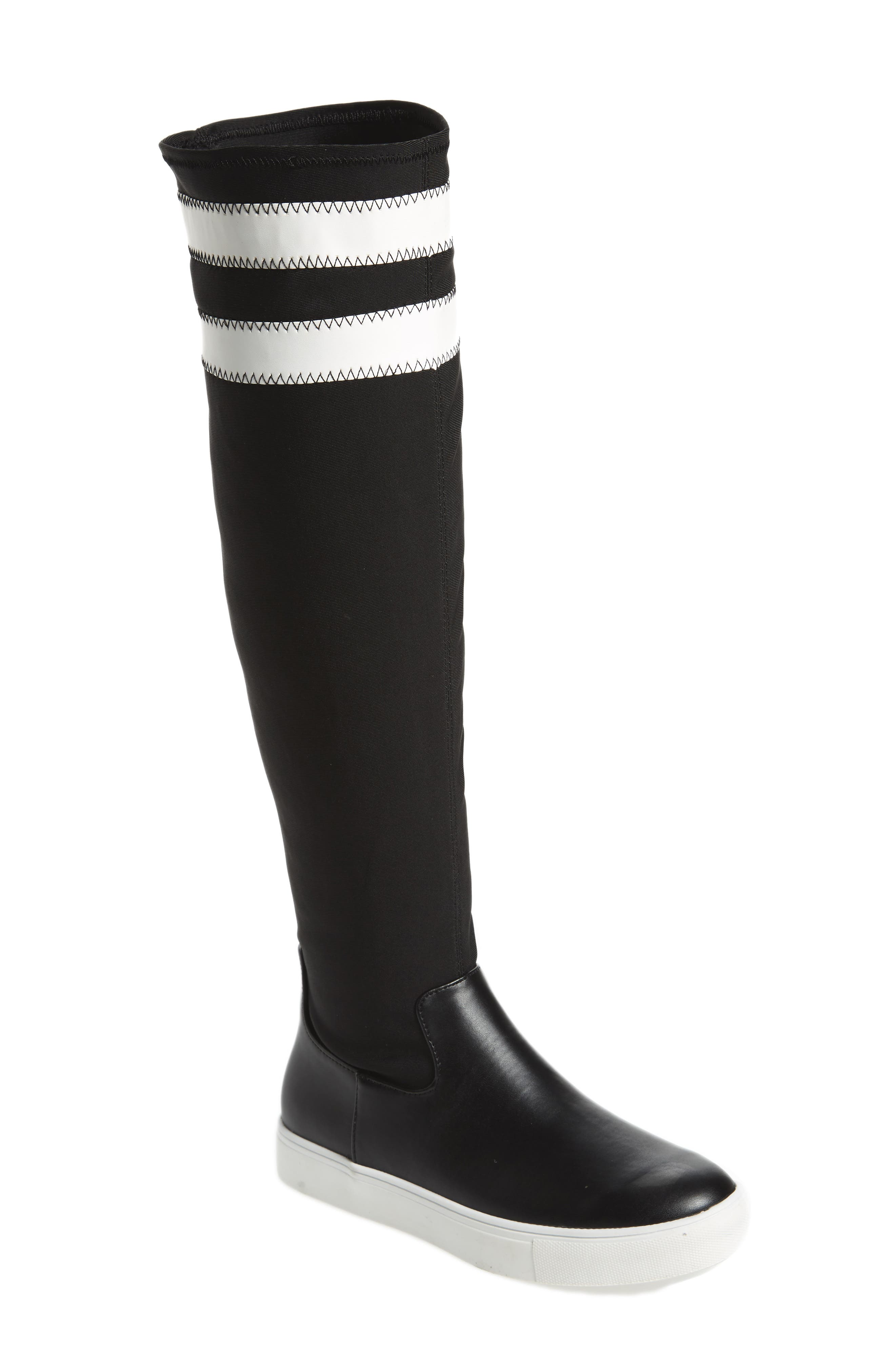 Melody Over the Knee Boot,                         Main,                         color, Black