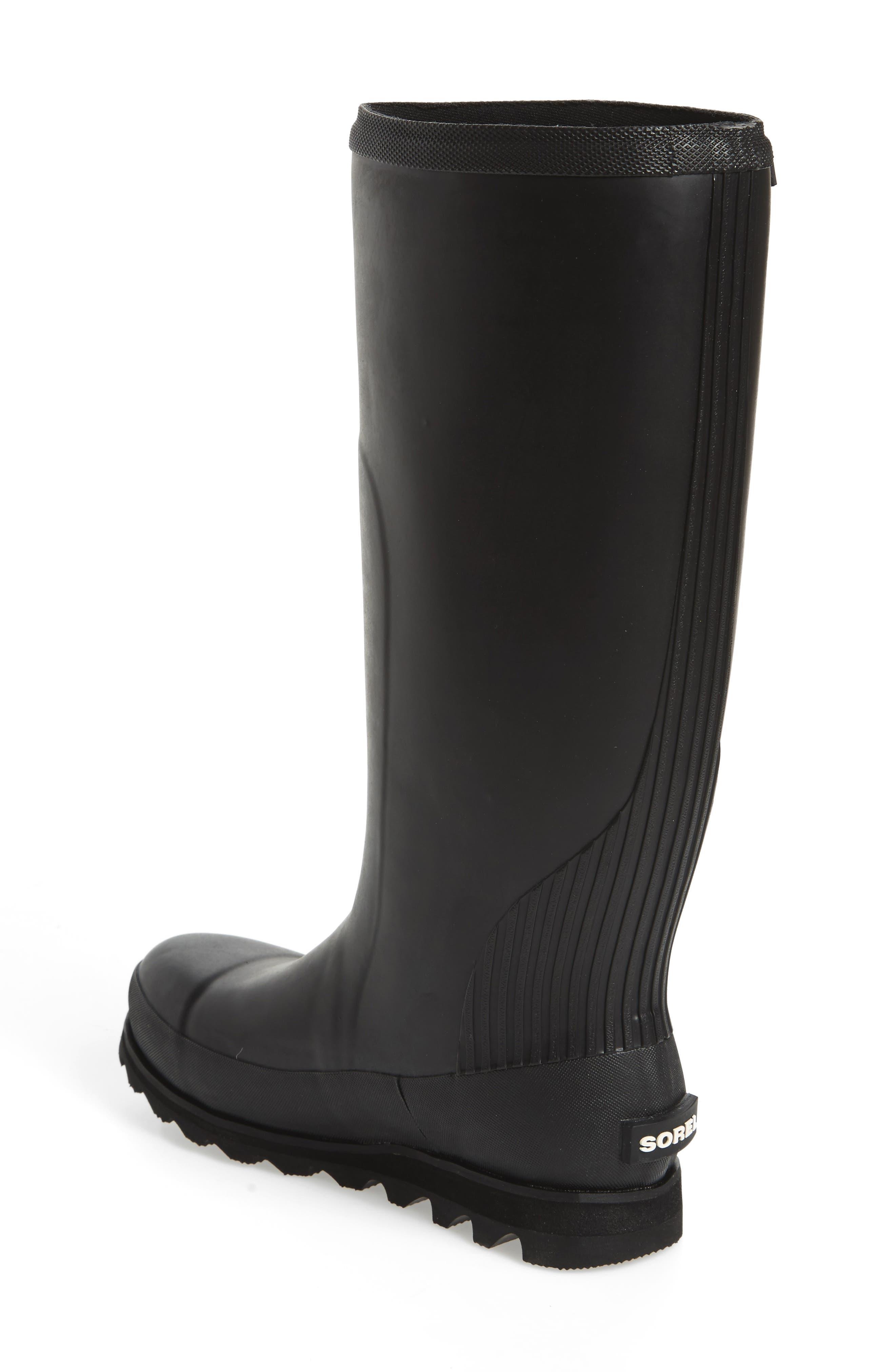 Alternate Image 2  - SOREL Joan Tall Rain Boot (Women)