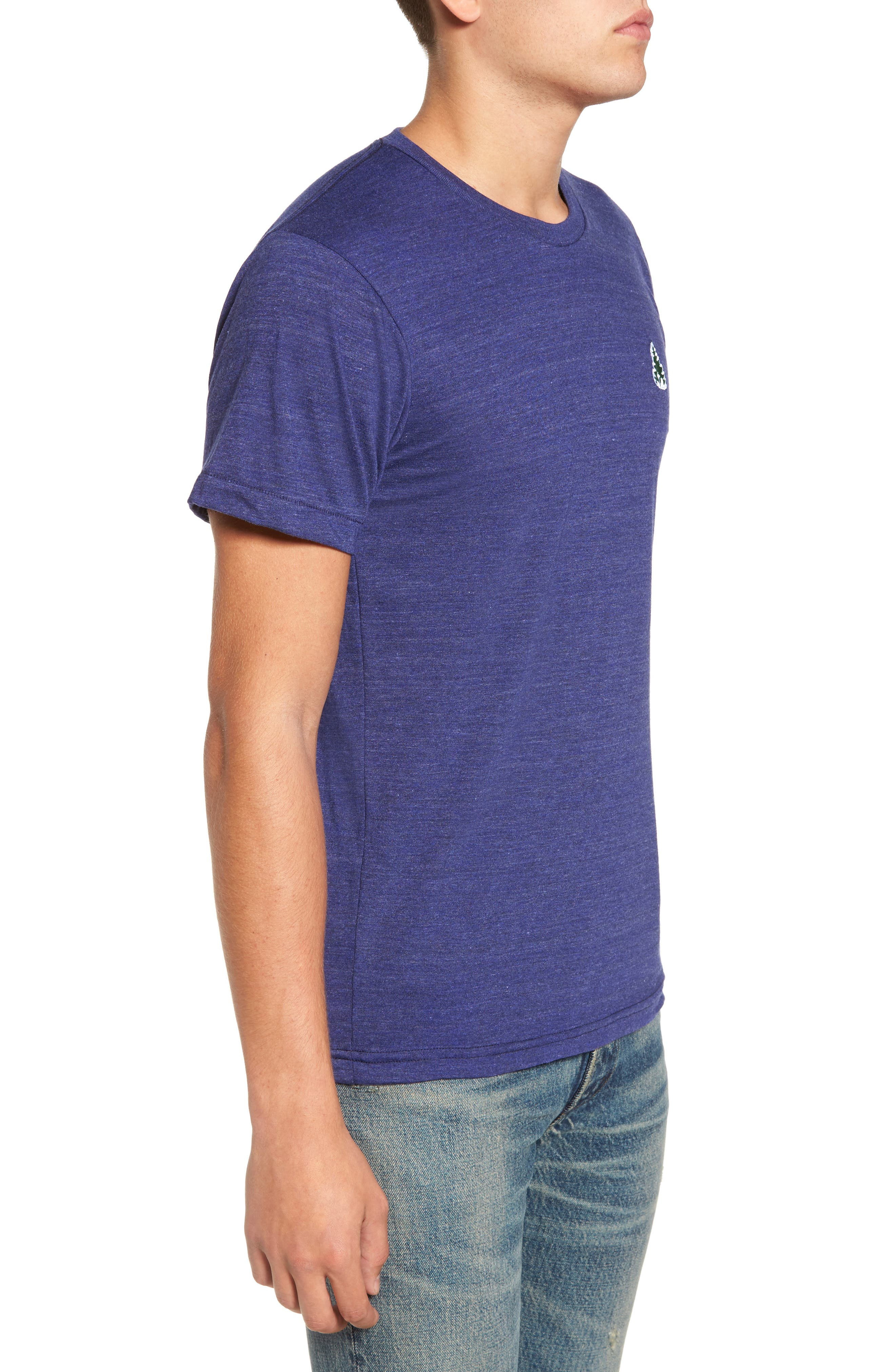Alternate Image 3  - Casual Industrees Johnny Tree Embroidered T-Shirt