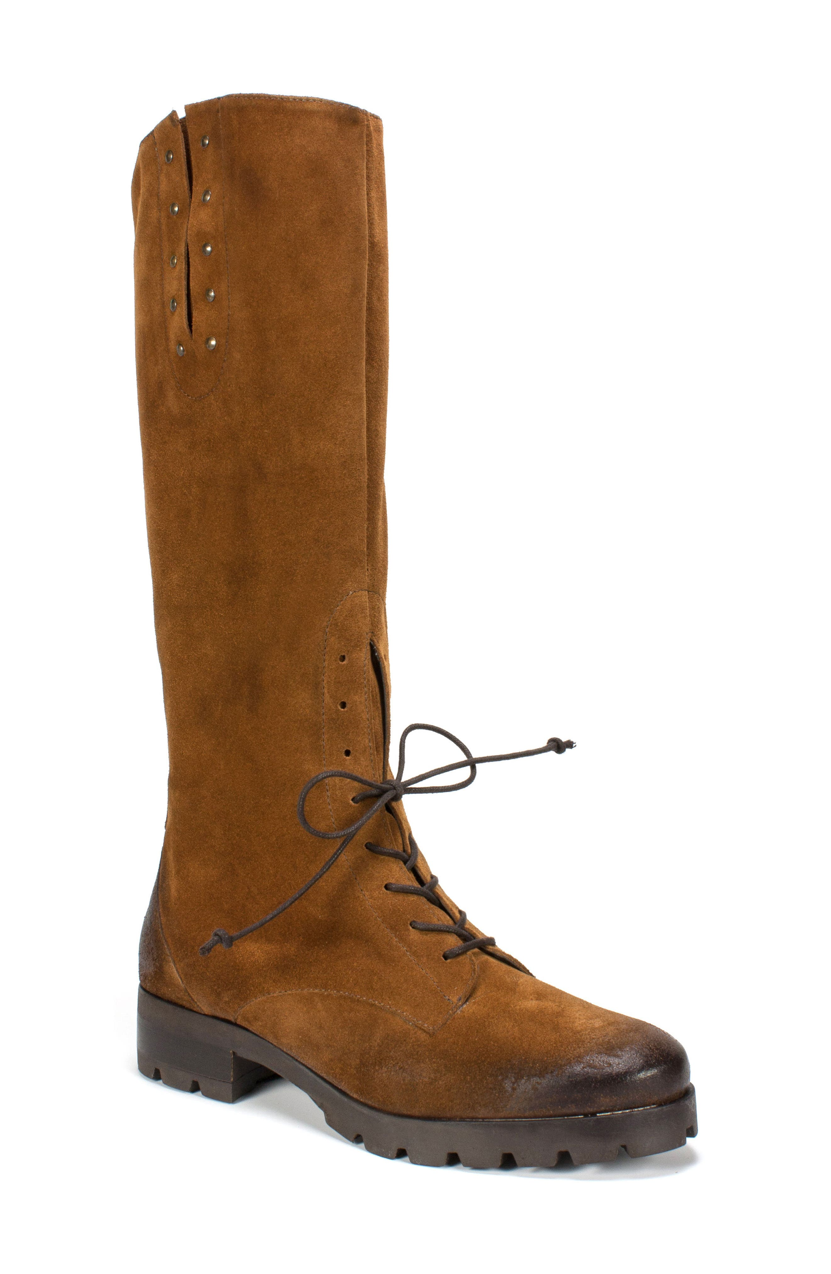 Dobbs Boot,                             Main thumbnail 1, color,                             Camel Suede