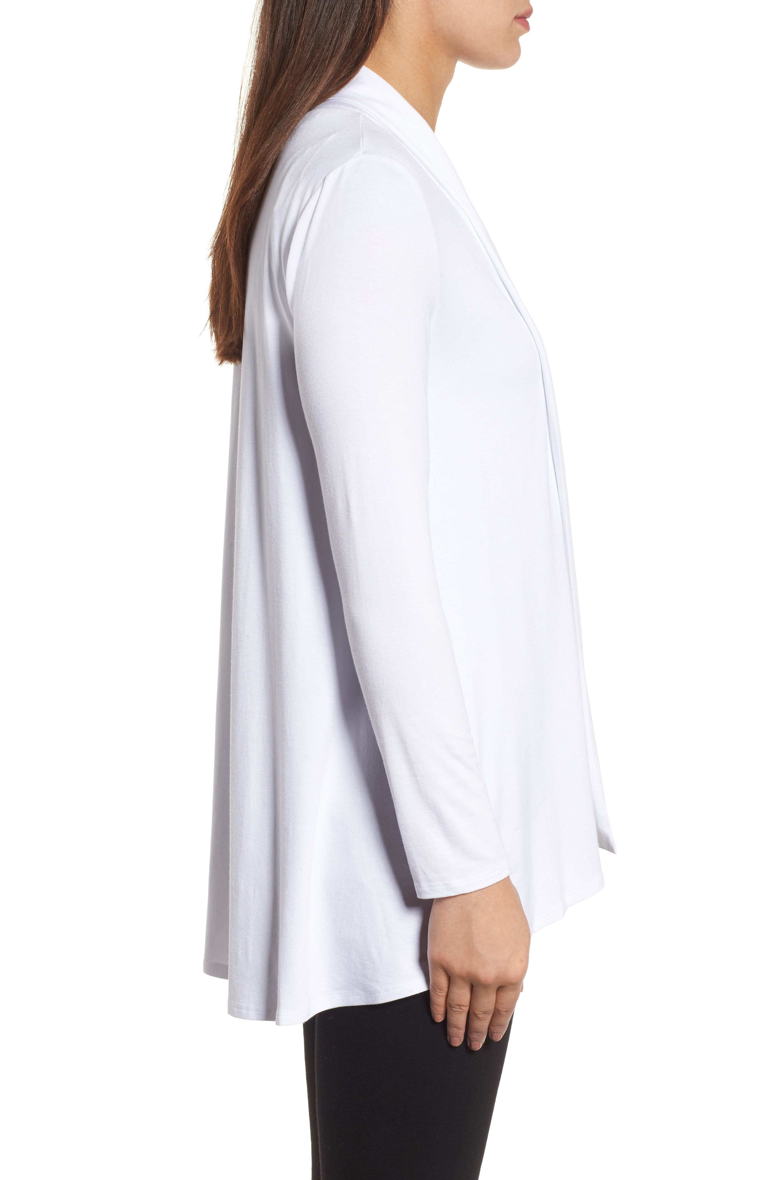 Alternate Image 3  - Vince Camuto Open Front Cardigan