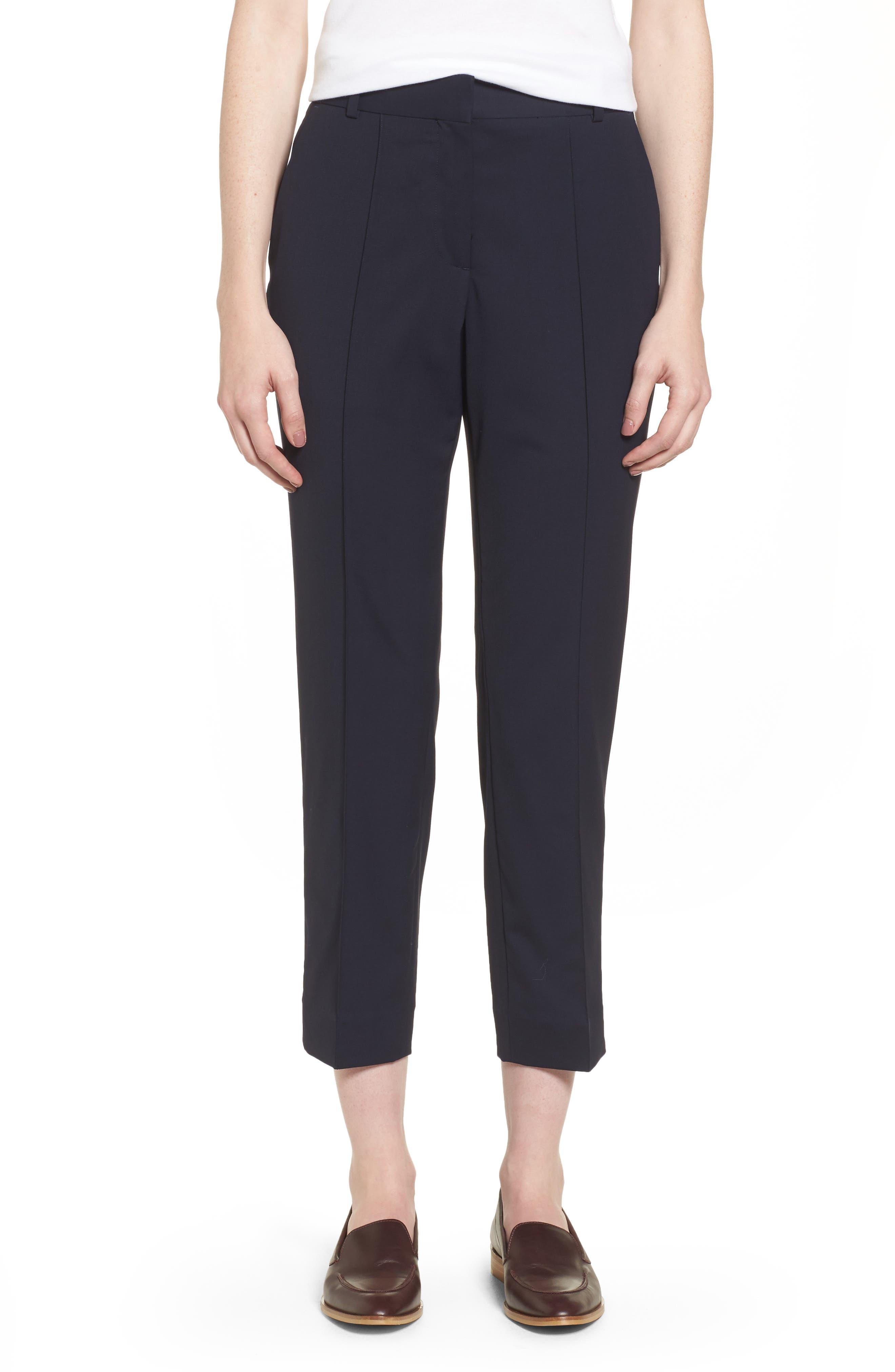 Alternate Image 1 Selected - Everlane The Italian GoWeave Crop Trousers