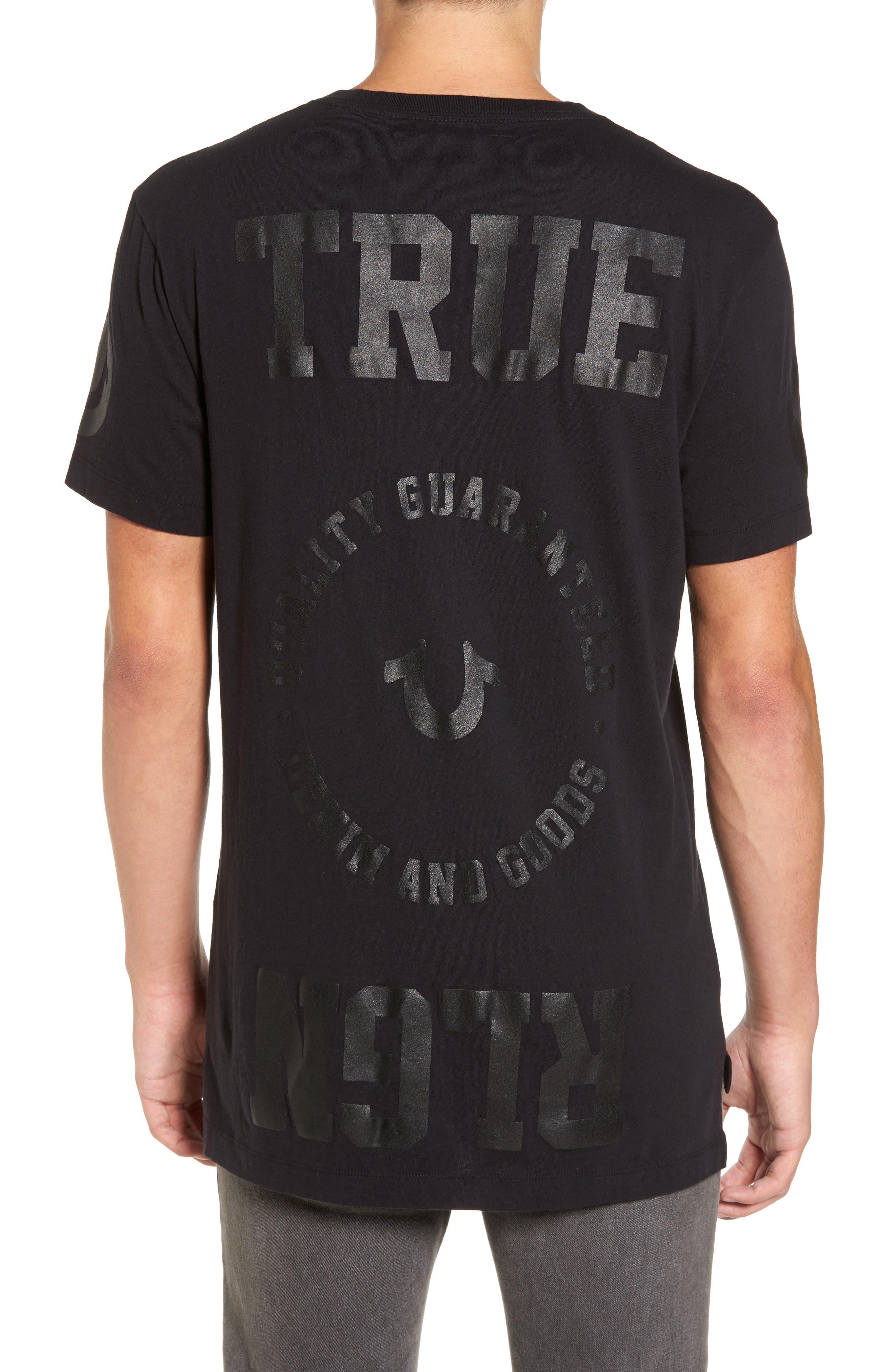 Graphic T-Shirt,                             Alternate thumbnail 2, color,                             Black