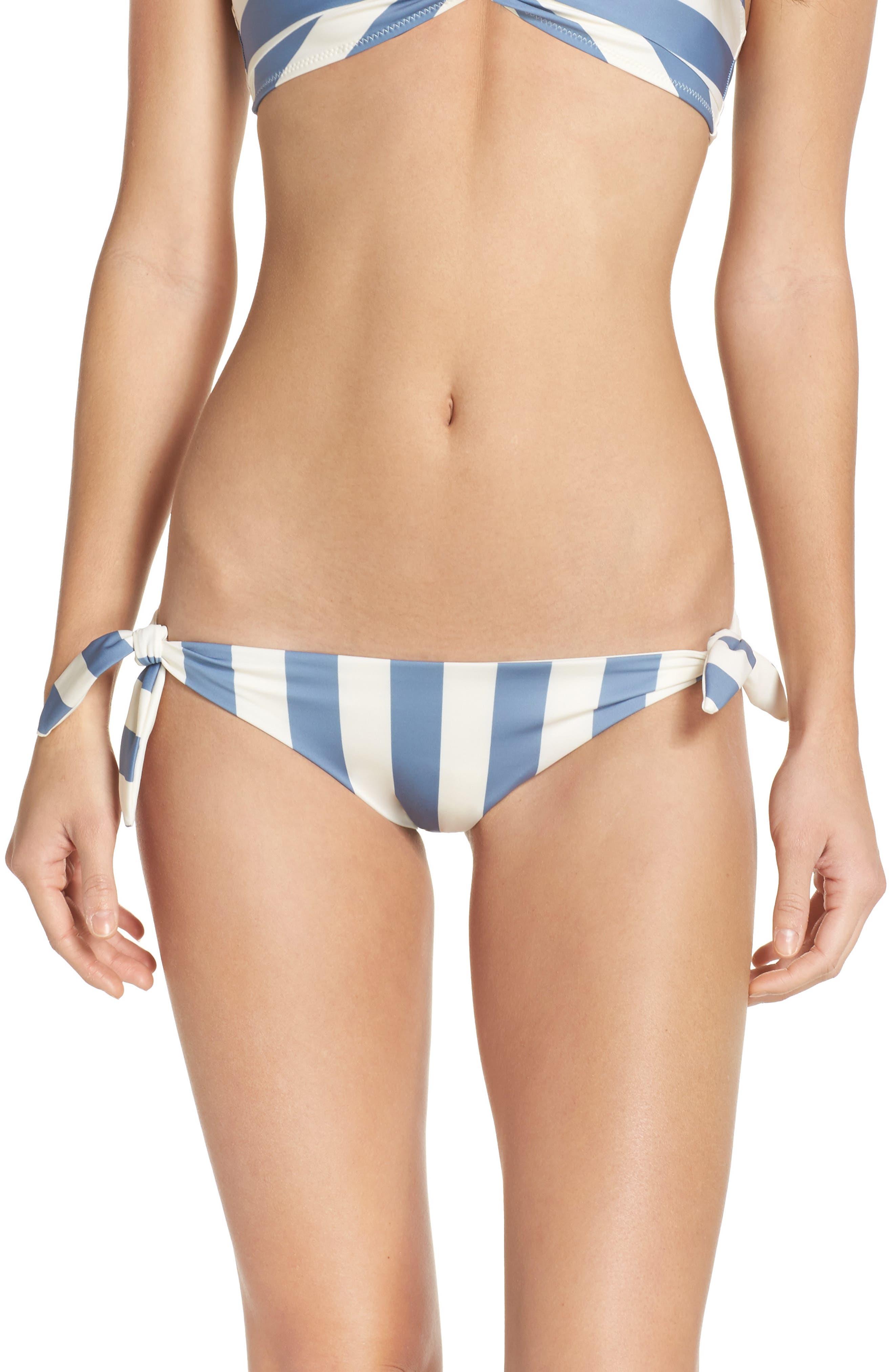 Main Image - Solid & Striped The Jane Side Tie Bikini Bottoms