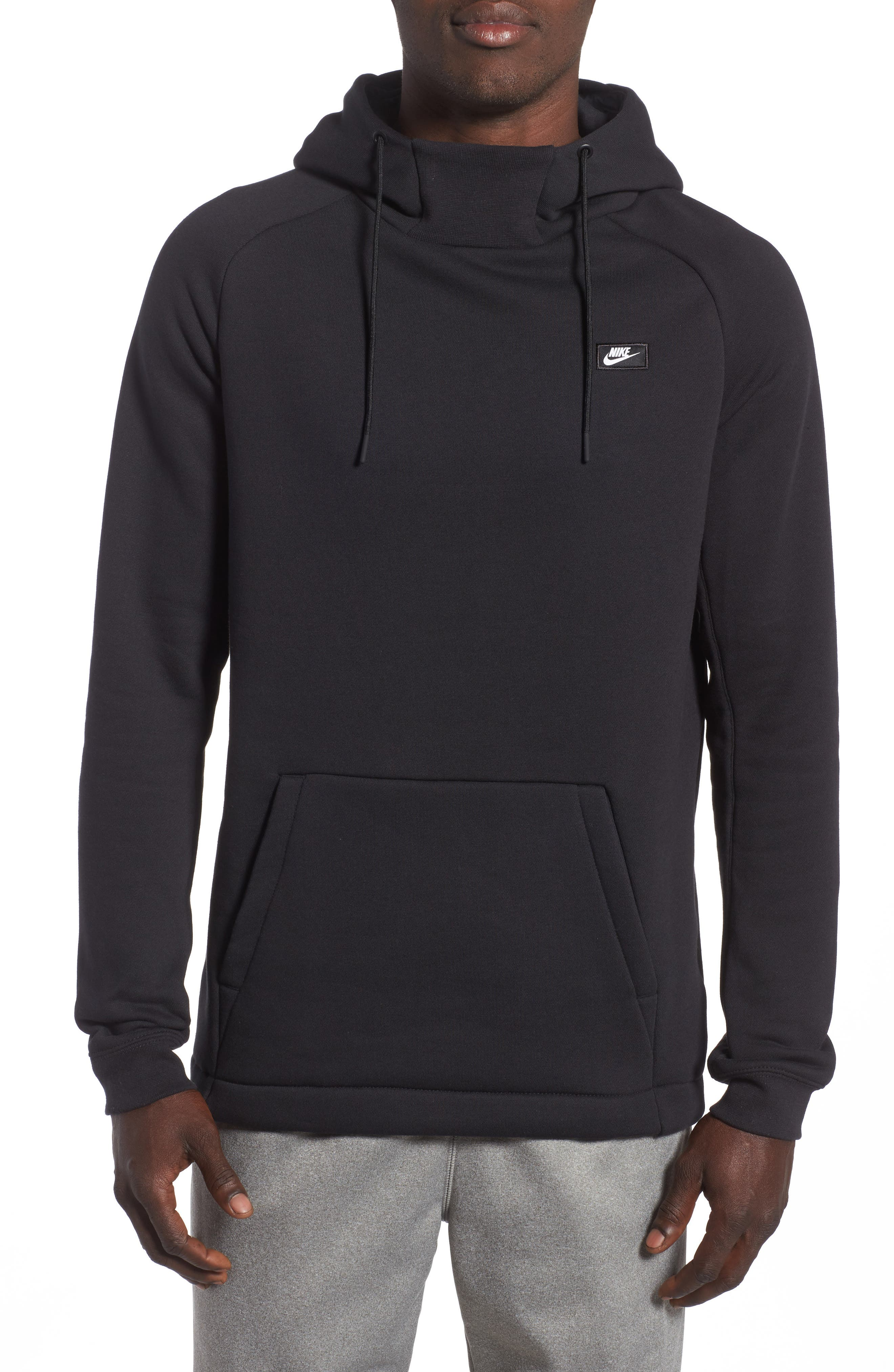 black nike sweatsuit