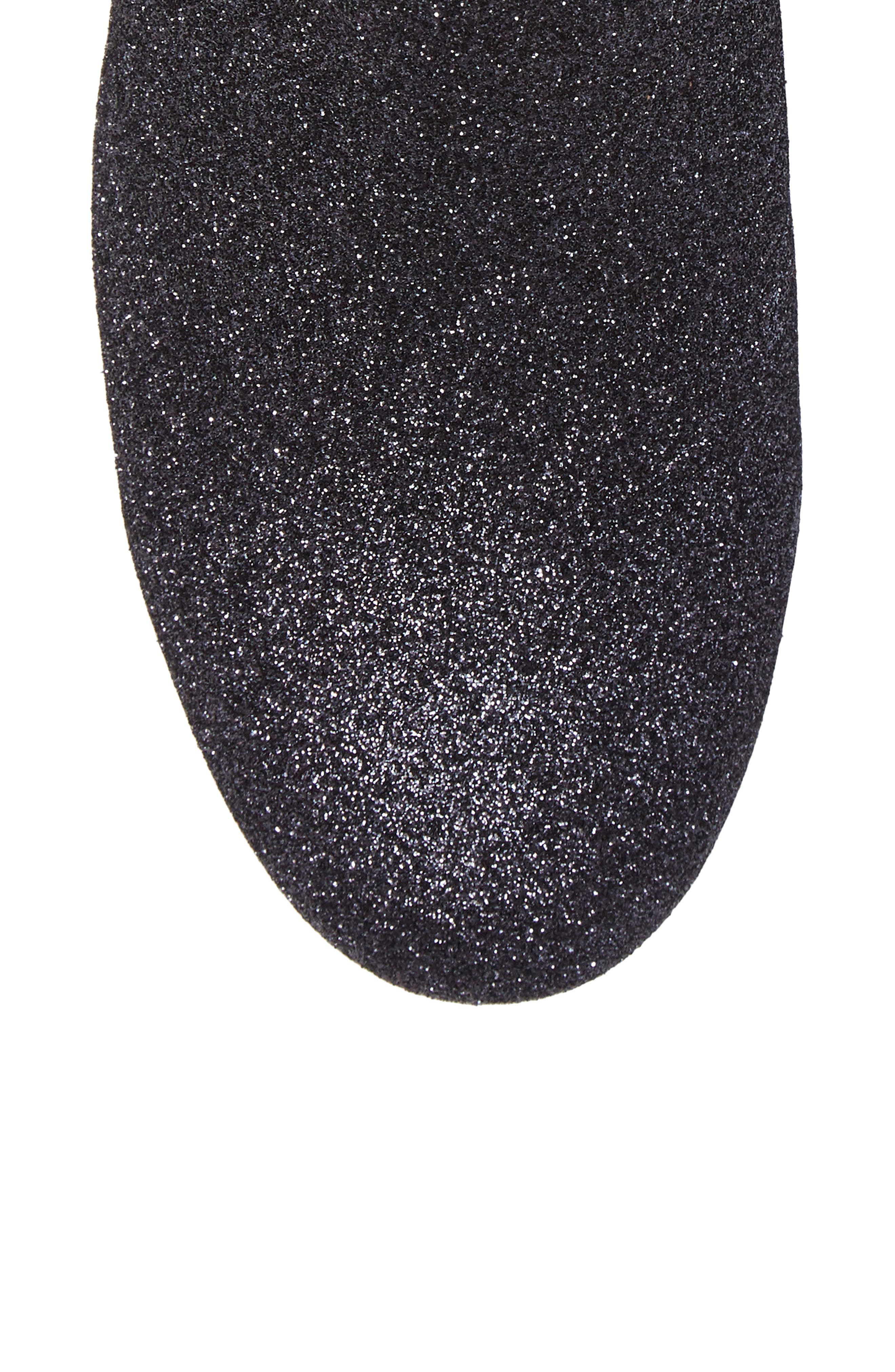 Gemma Bootie,                             Alternate thumbnail 5, color,                             Gunmetal Glitter