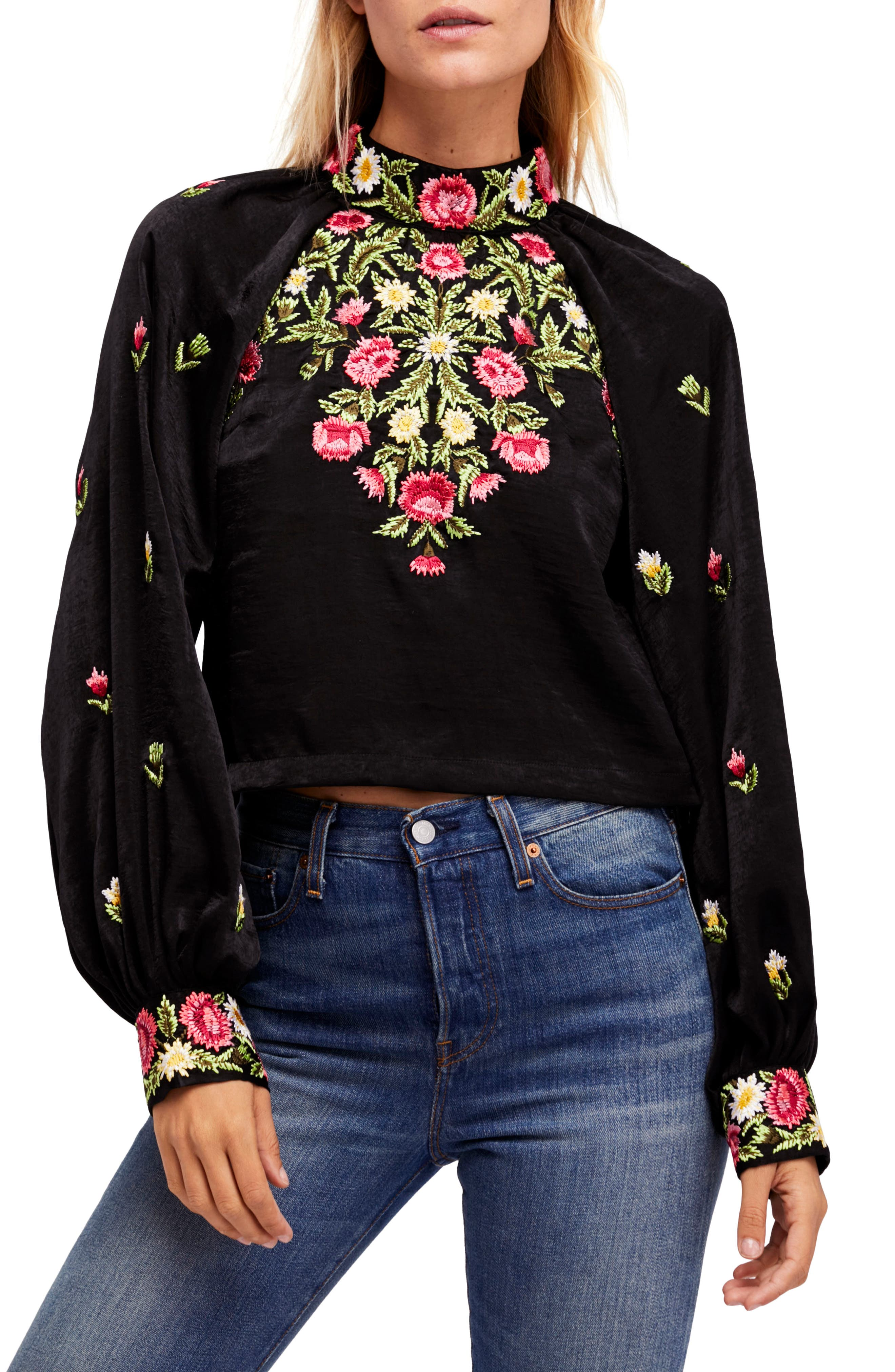 Alternate Image 1 Selected - Free People Jessica Blouse