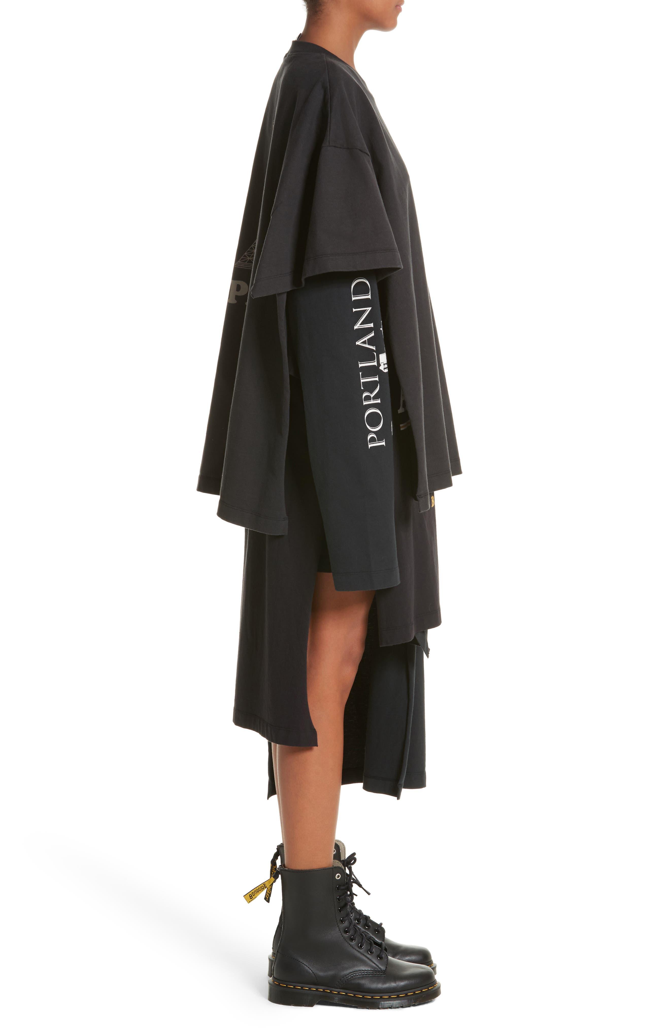 Alternate Image 3  - Vetements Layered Tee Dress