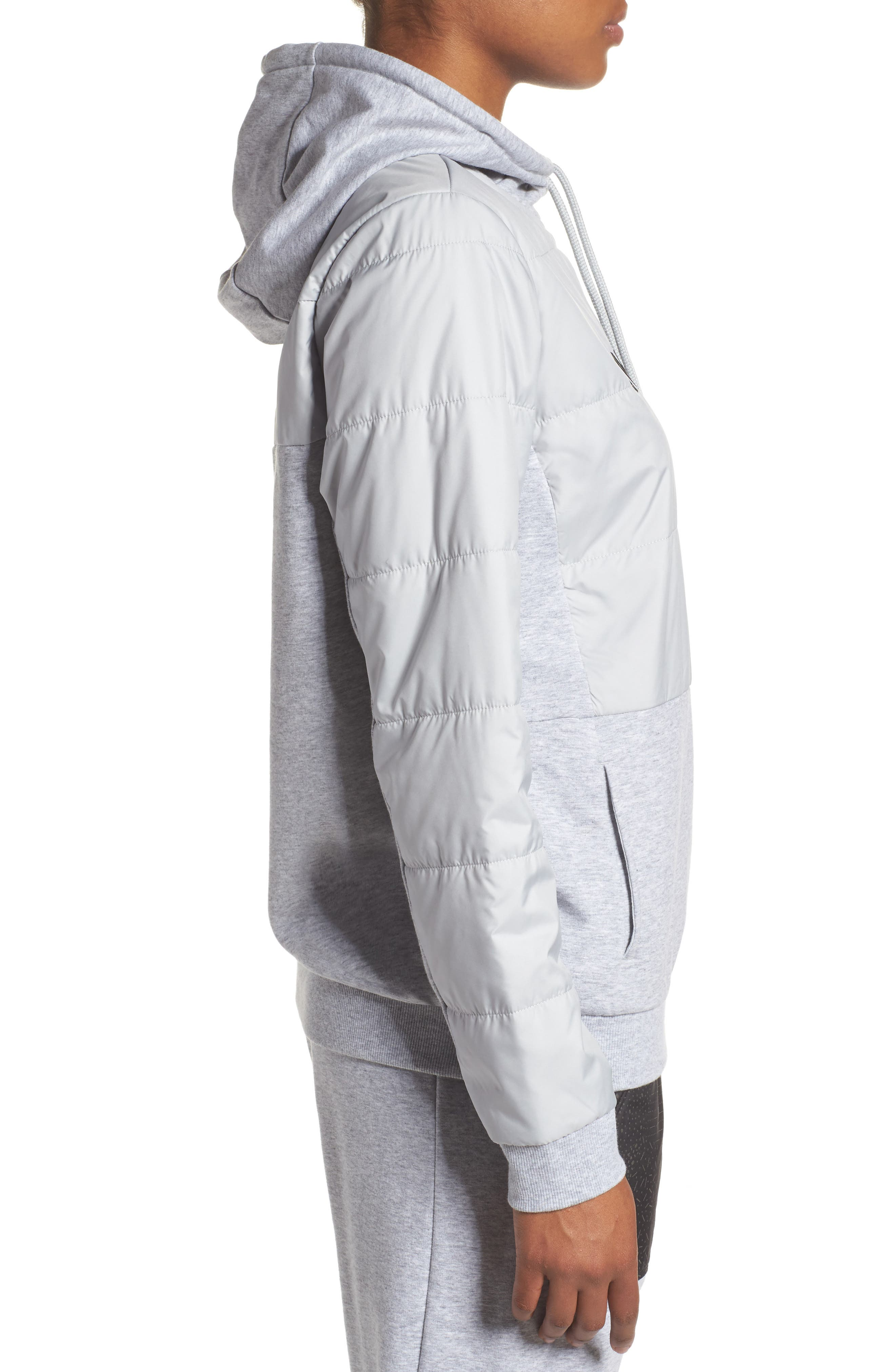 Alternate Image 3  - The North Face Reflective Logo Hoodie