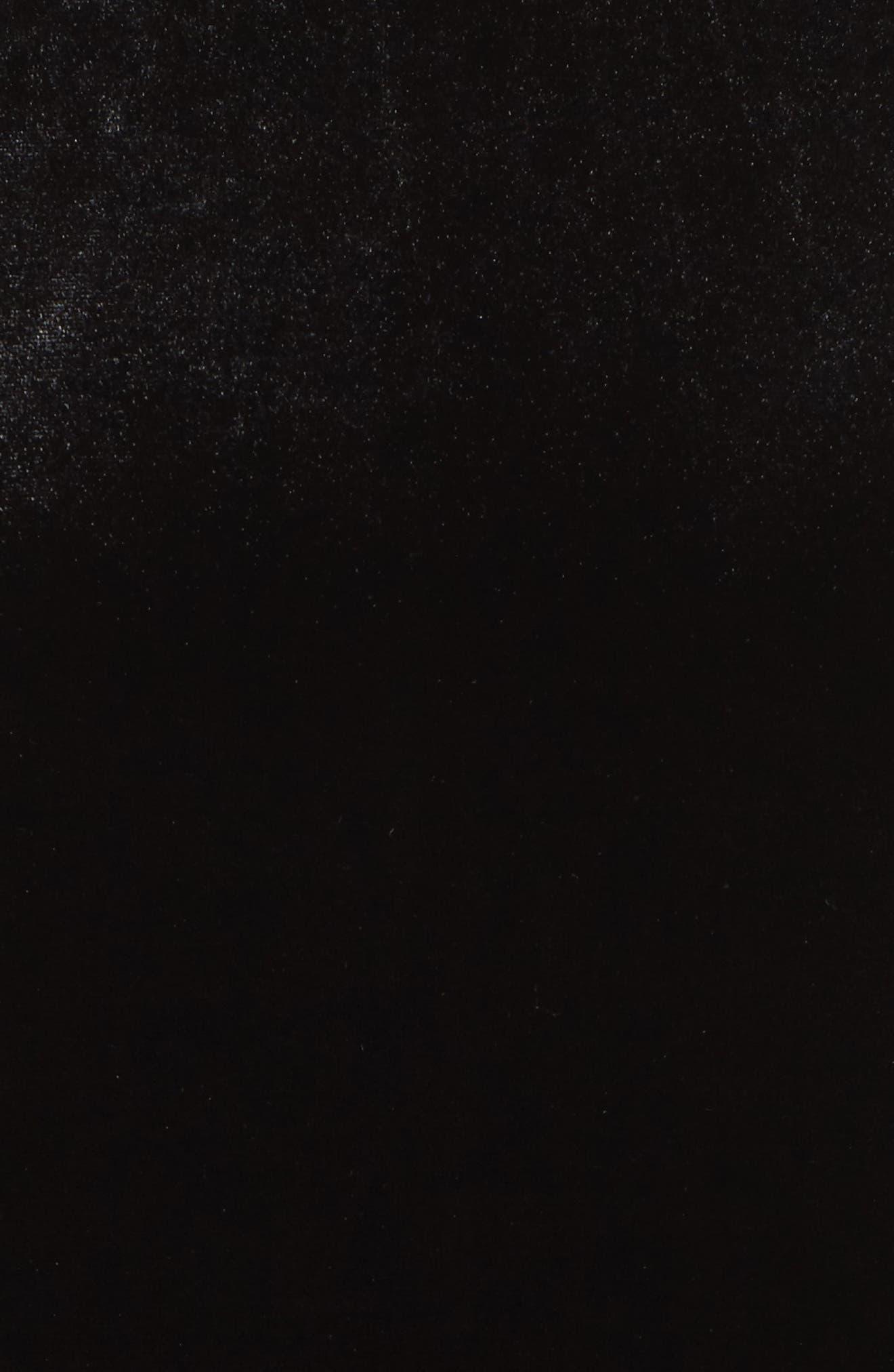 Aurore Body-Con Dress,                             Alternate thumbnail 5, color,                             Black