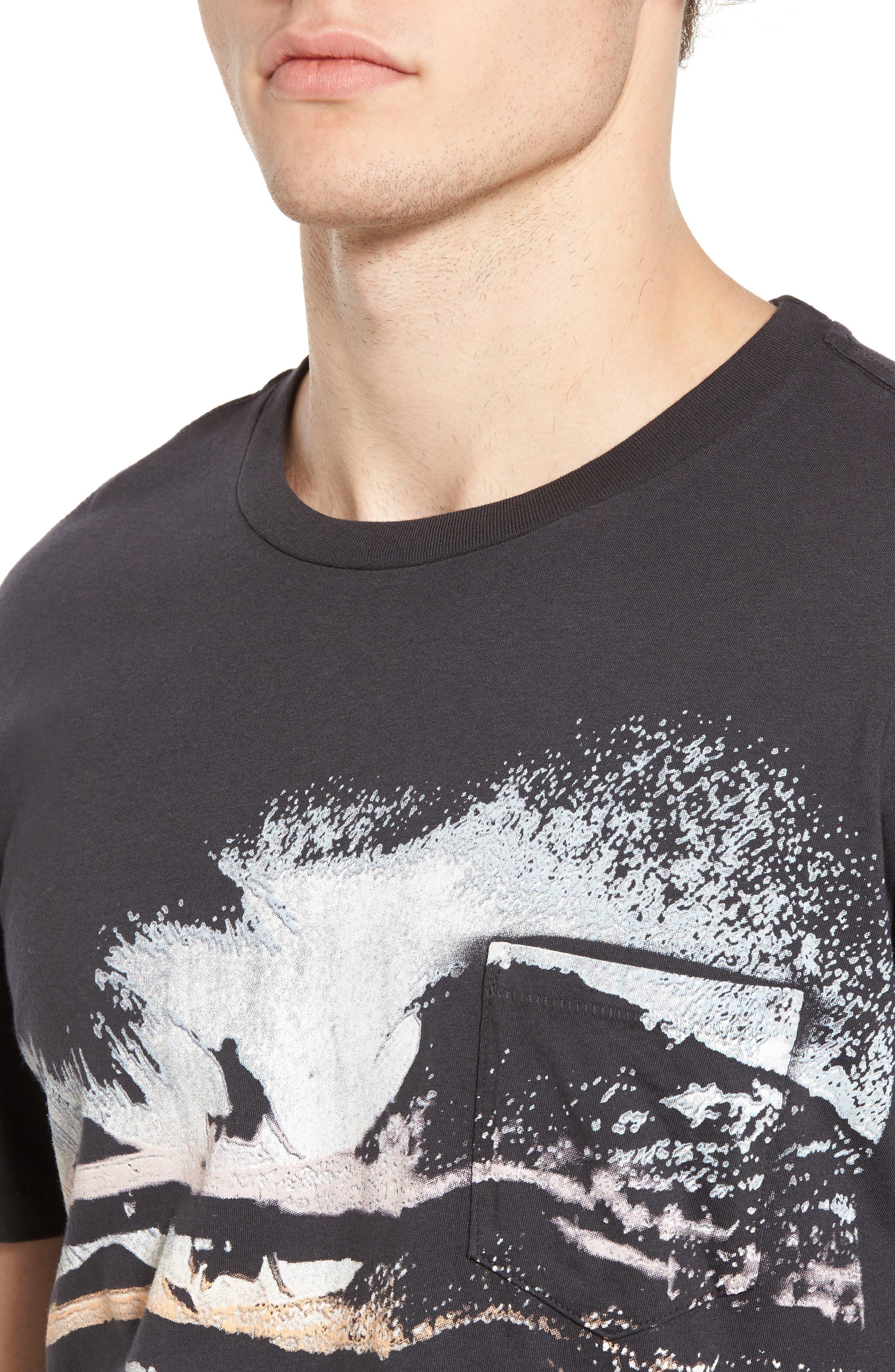 Alternate Image 4  - Sol Angeles Night Surf Pocket T-Shirt