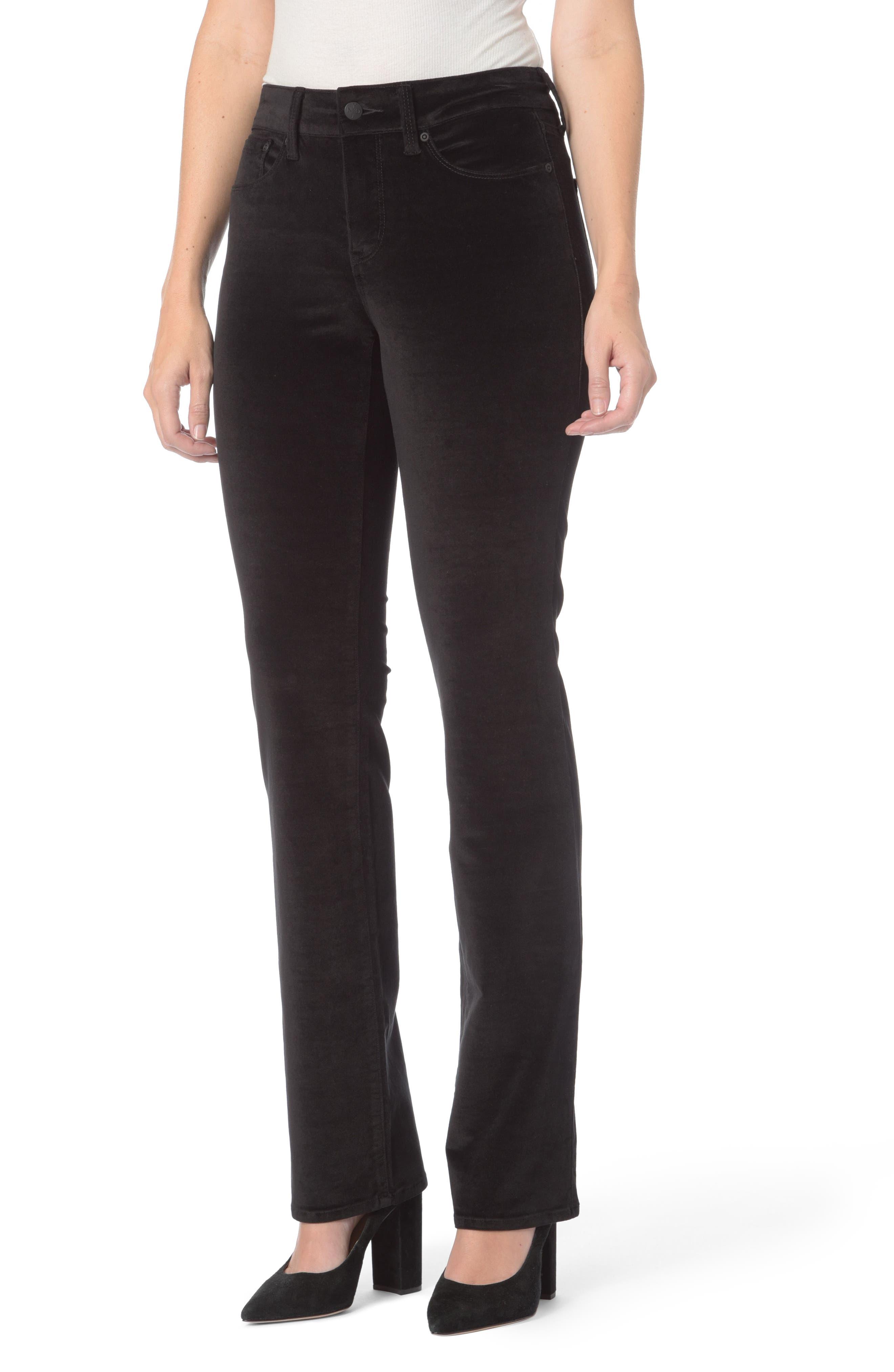 NYDJ Marilyn Velvet Straight Jeans (Regular & Petite)