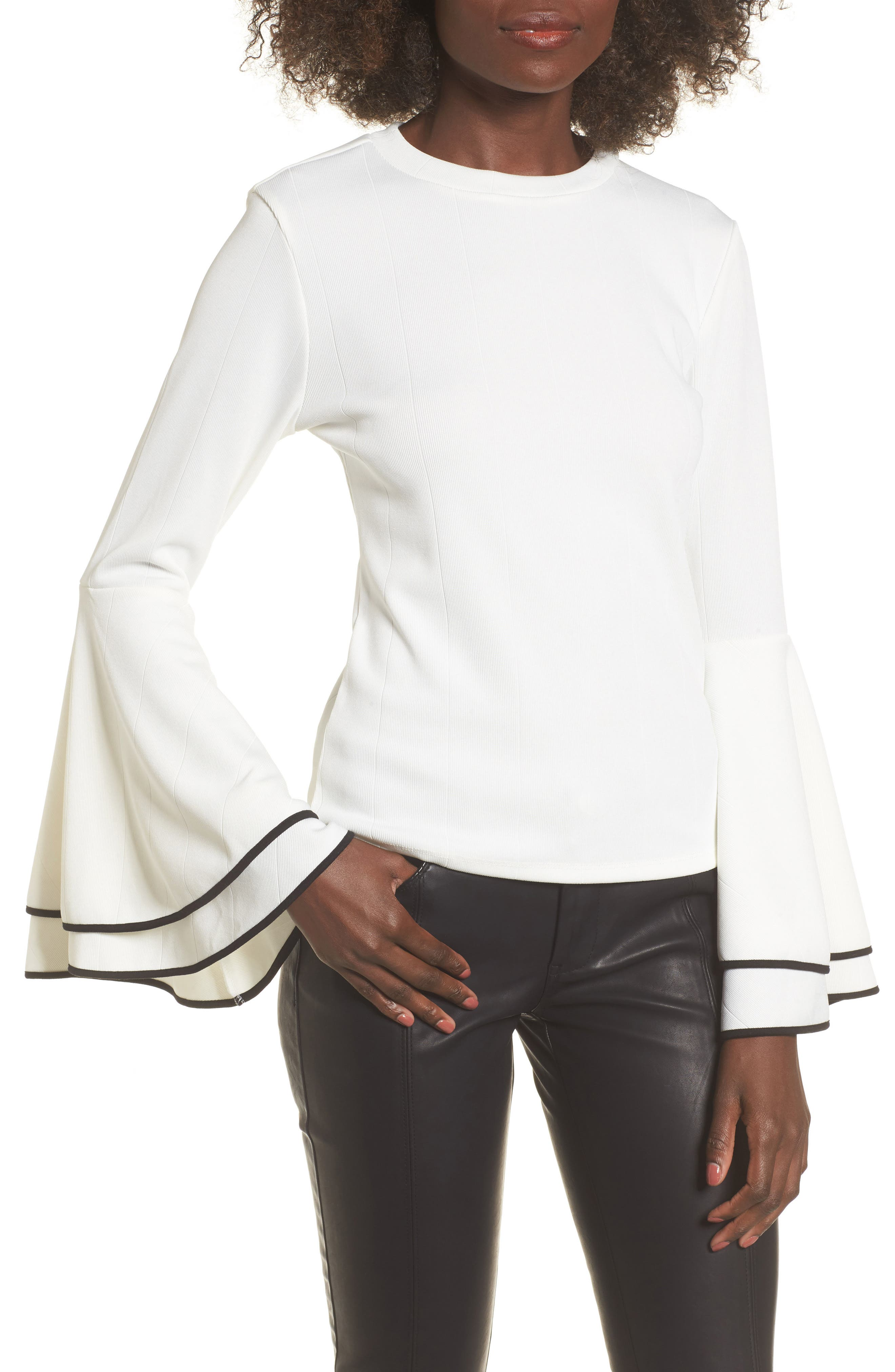 Alternate Image 1 Selected - Leith Bell Sleeve Sweater