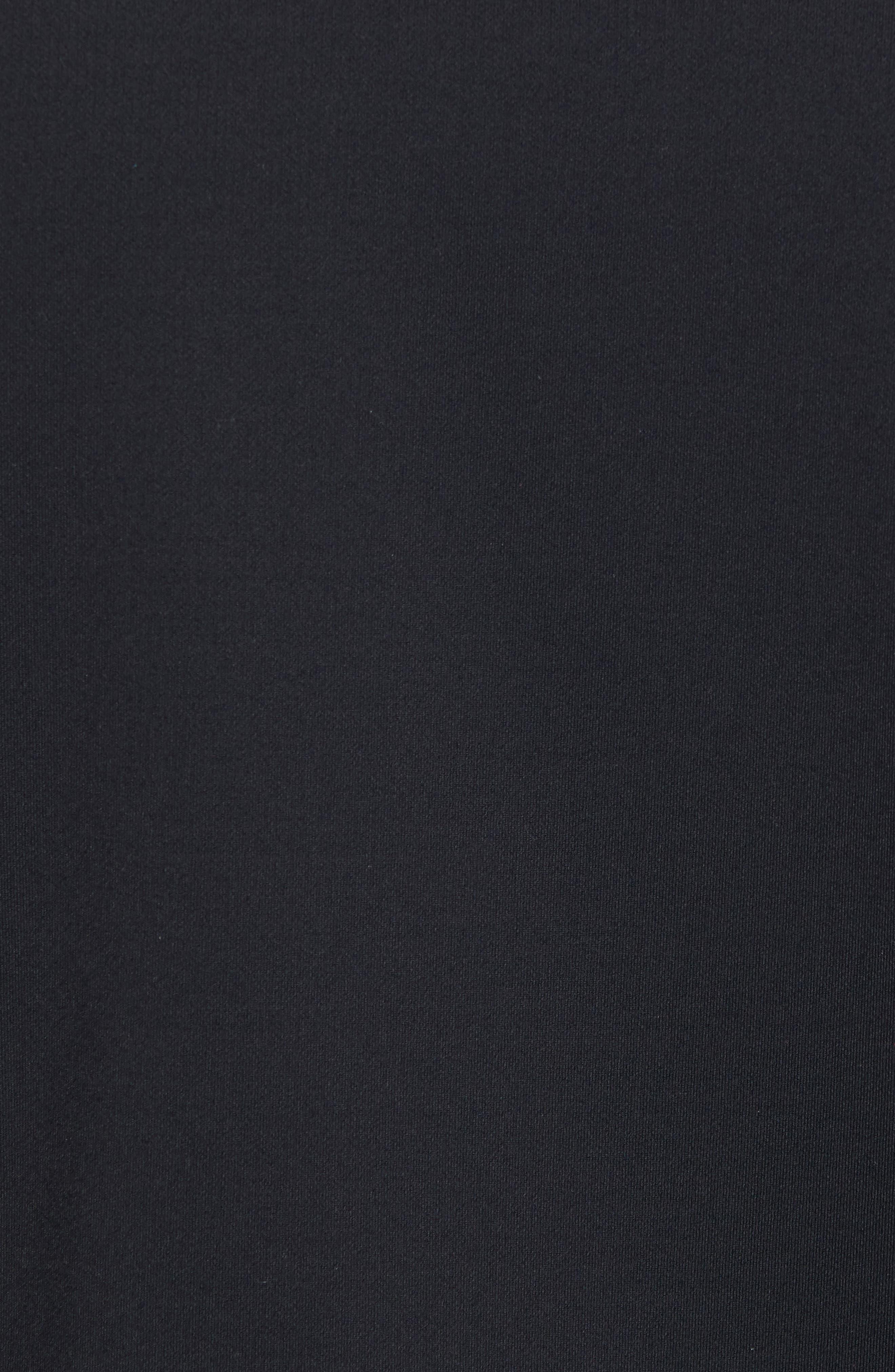 Inversion Relaxed Bomber Jacket,                             Alternate thumbnail 5, color,                             Black