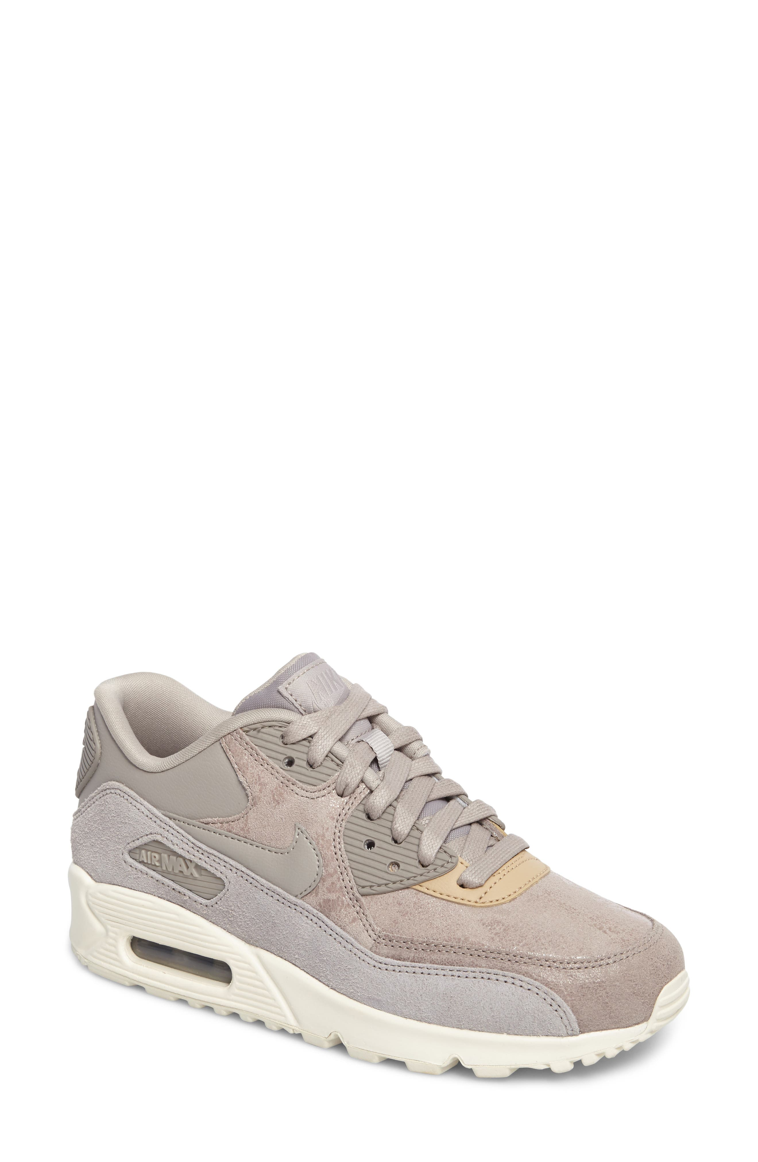Alternate Image 1 Selected - Nike Air Max 90 Premium Sneaker (Women)