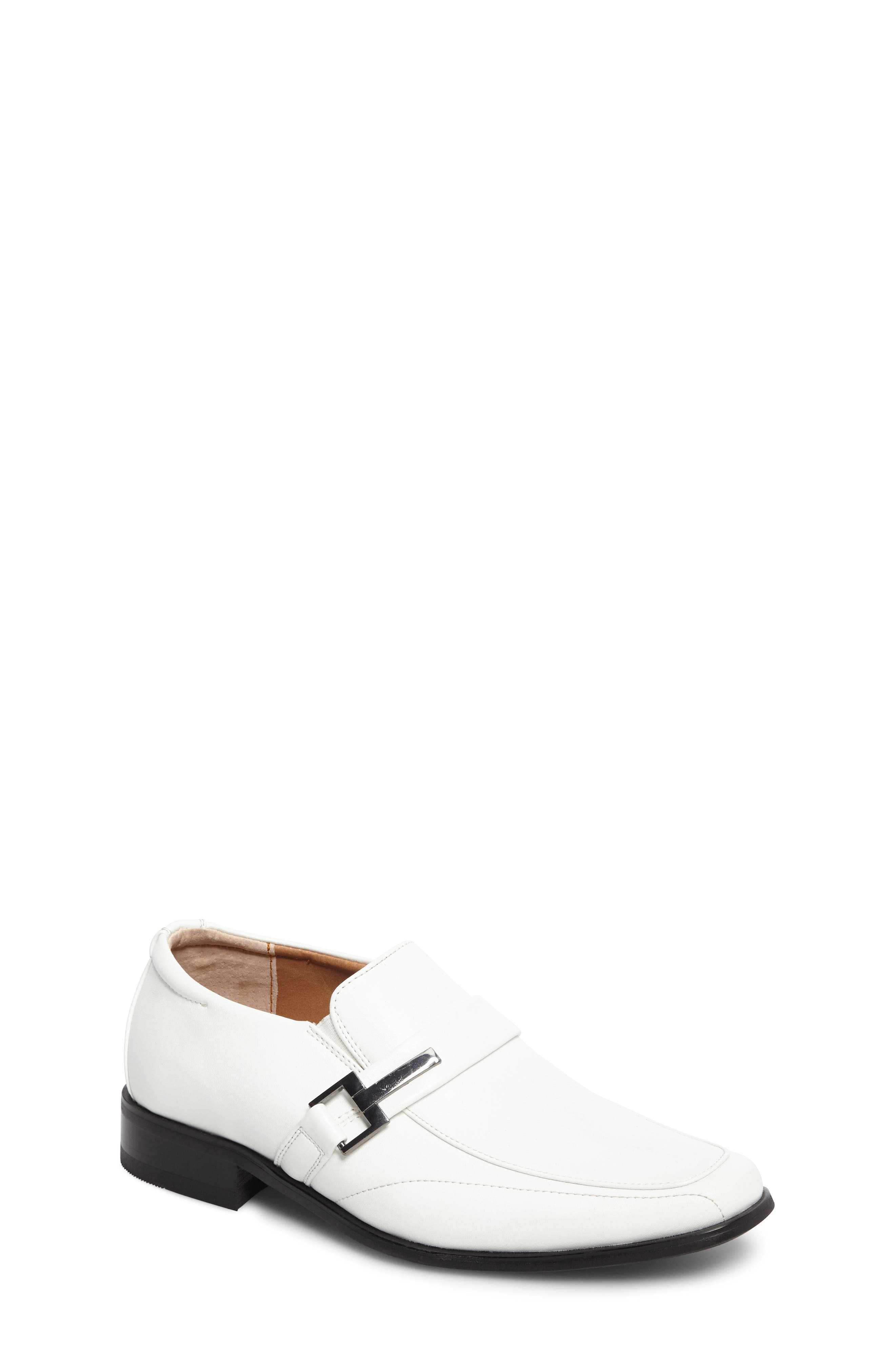 Bartley Loafer,                             Main thumbnail 1, color,                             White