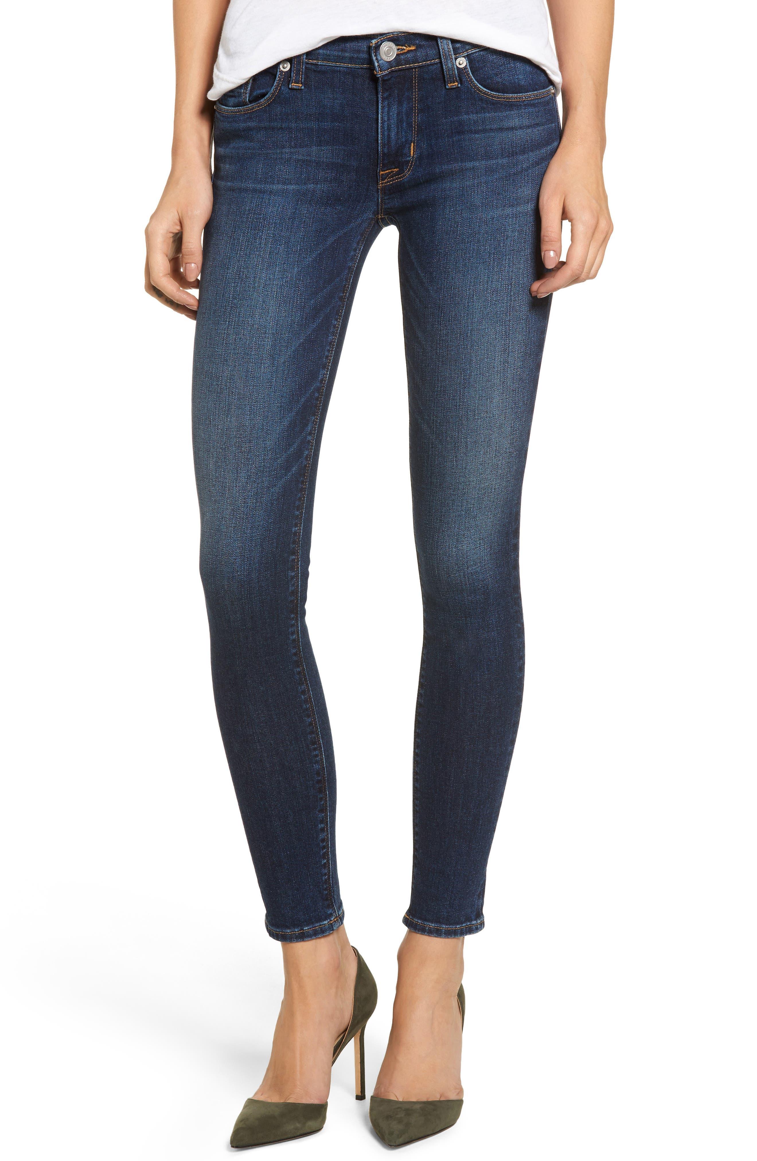 Main Image - Hudson Jeans 'Krista' Super Skinny Jeans