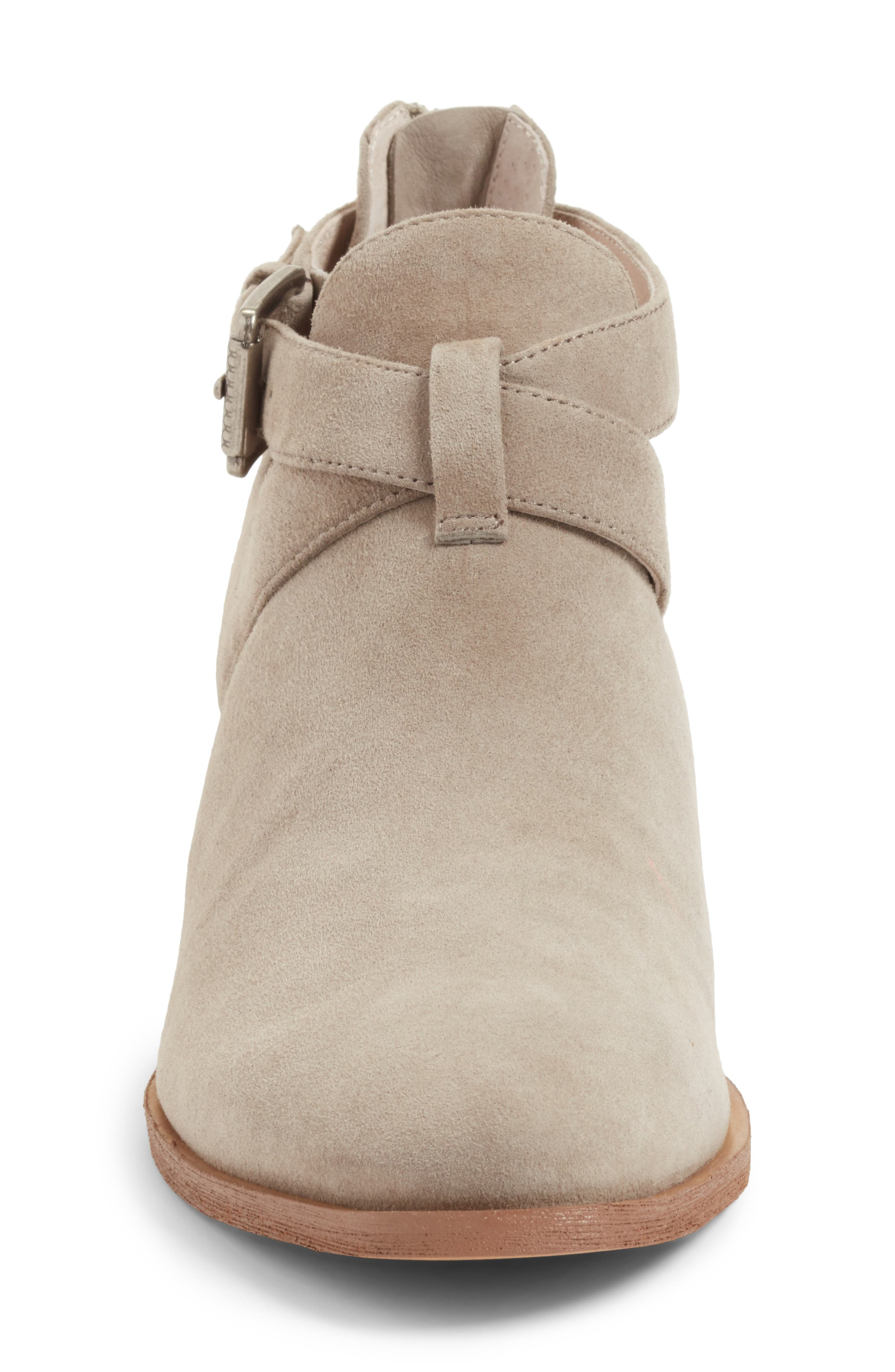 Tina Bootie,                             Alternate thumbnail 4, color,                             Stone Suede