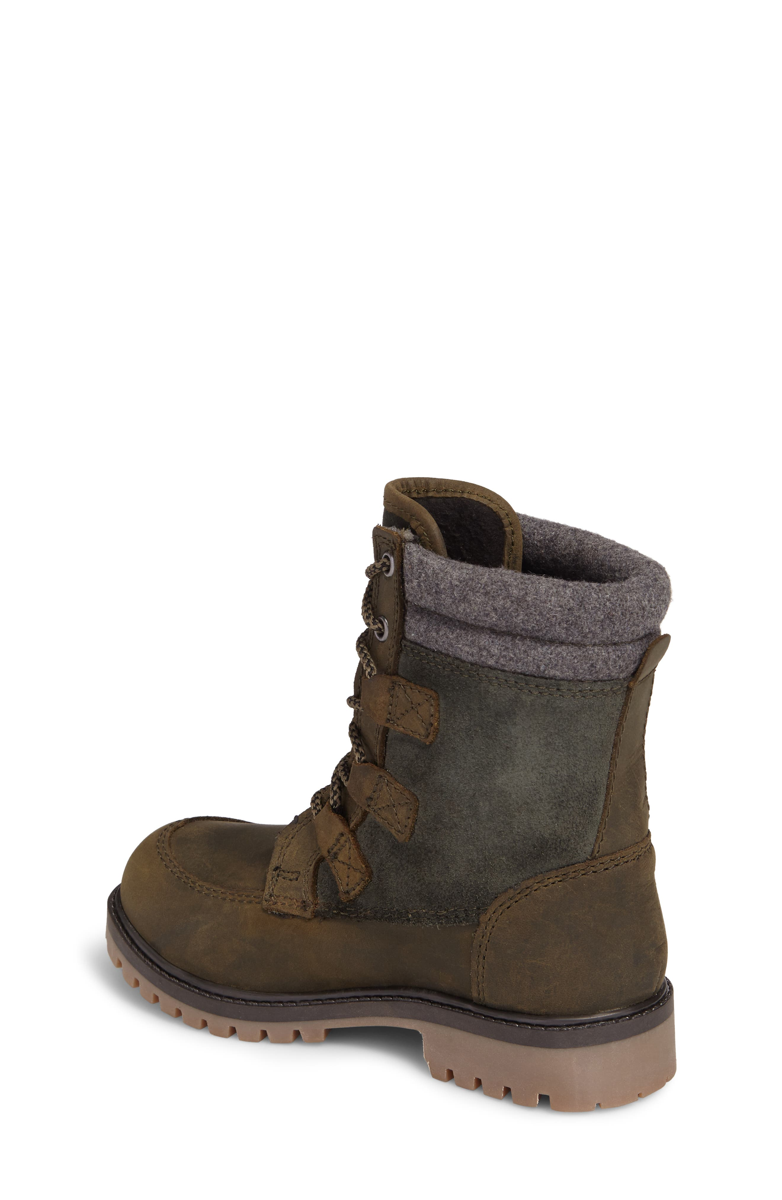 Takodalo Waterproof Boot,                             Alternate thumbnail 2, color,                             Olive