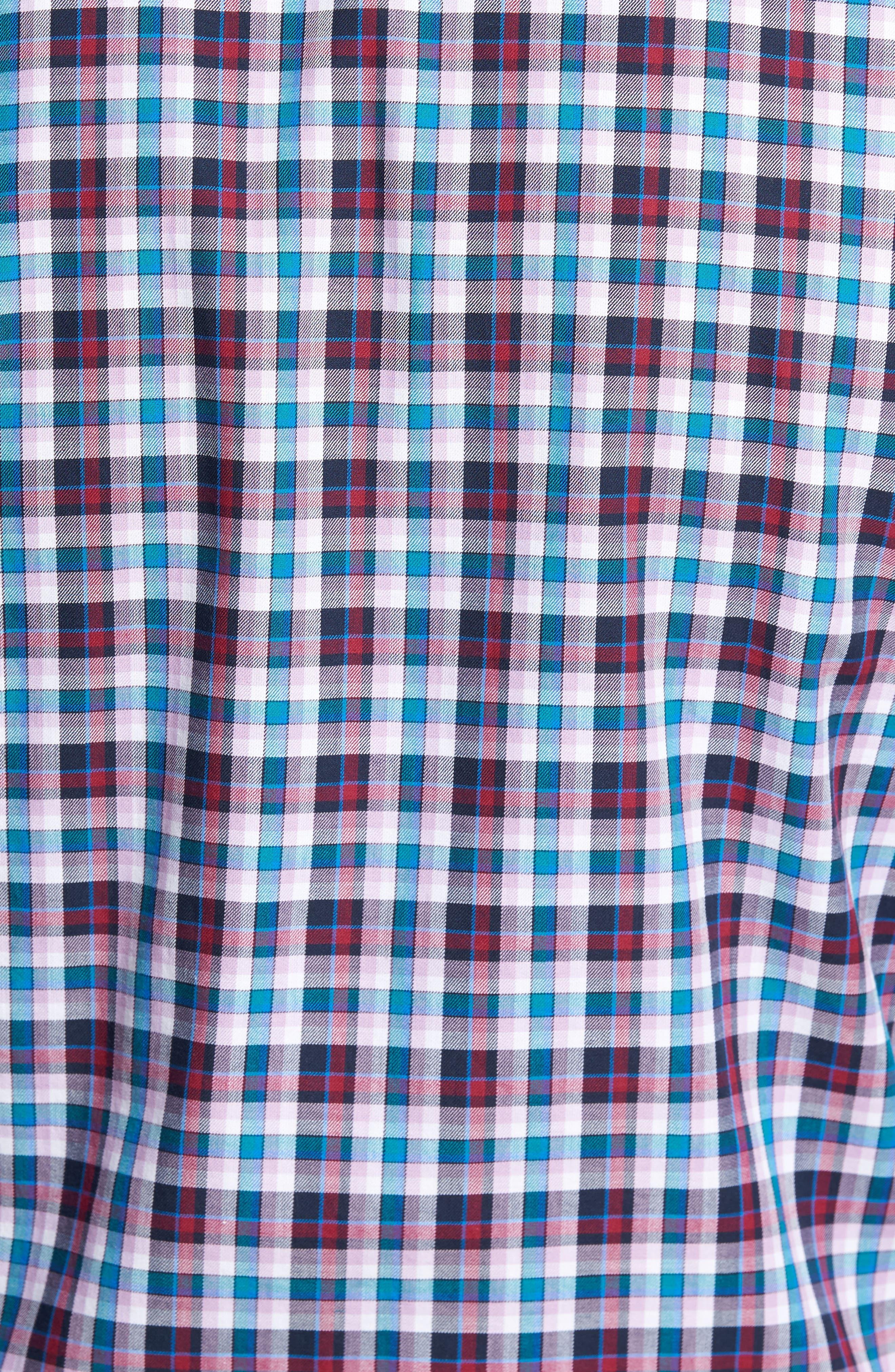 Alternate Image 5  - TailorByrd Coushatta Plaid Sport Shirt