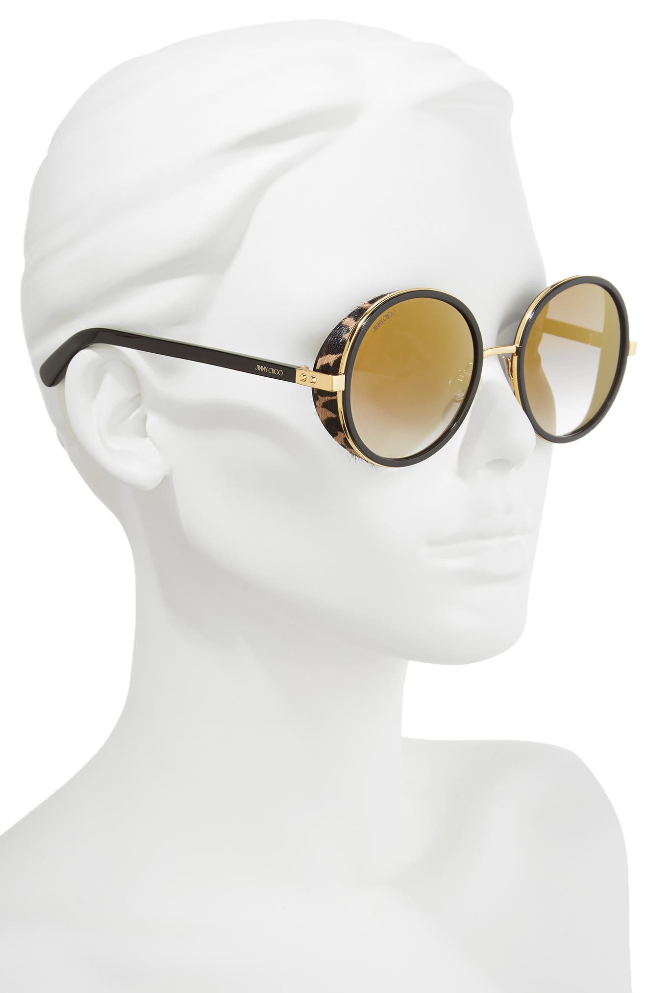 Alternate Image 2  - Jimmy Choo Andiens 54mm Round Sunglasses