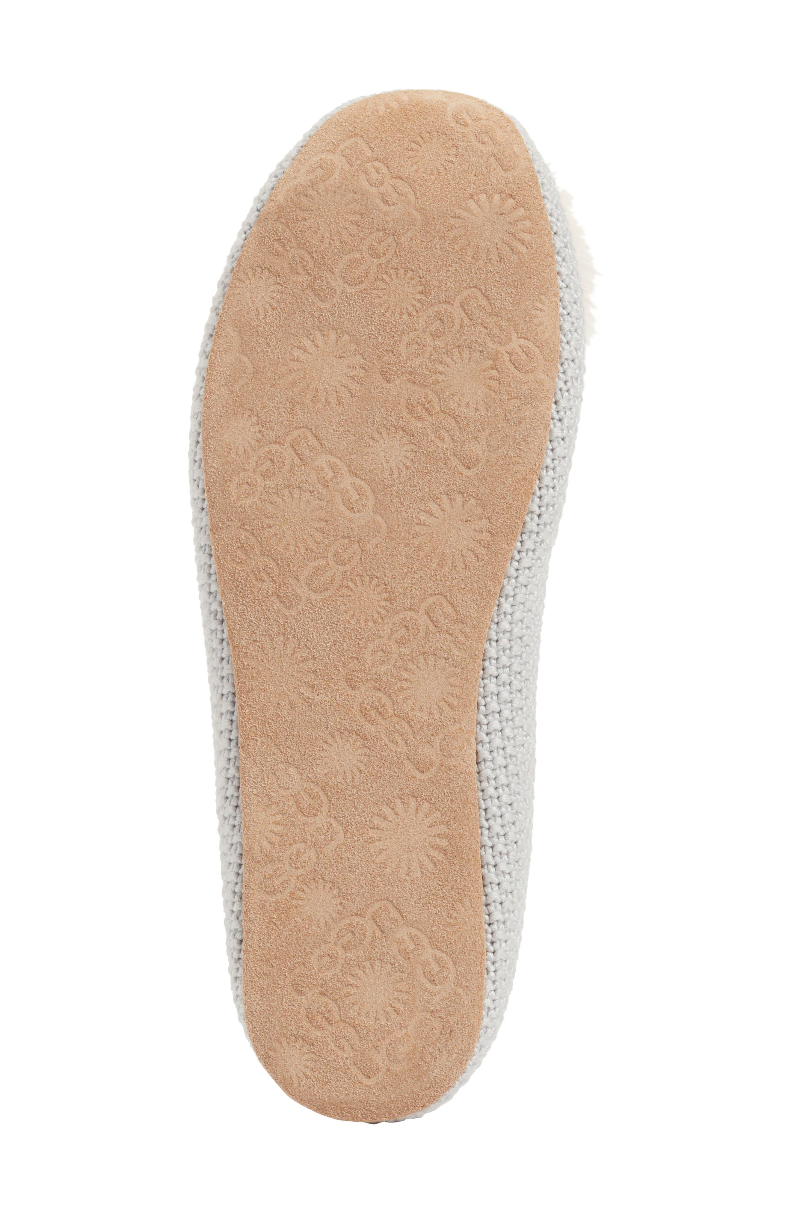 Alternate Image 6  - UGG® Andi Pompom Slipper (Women)