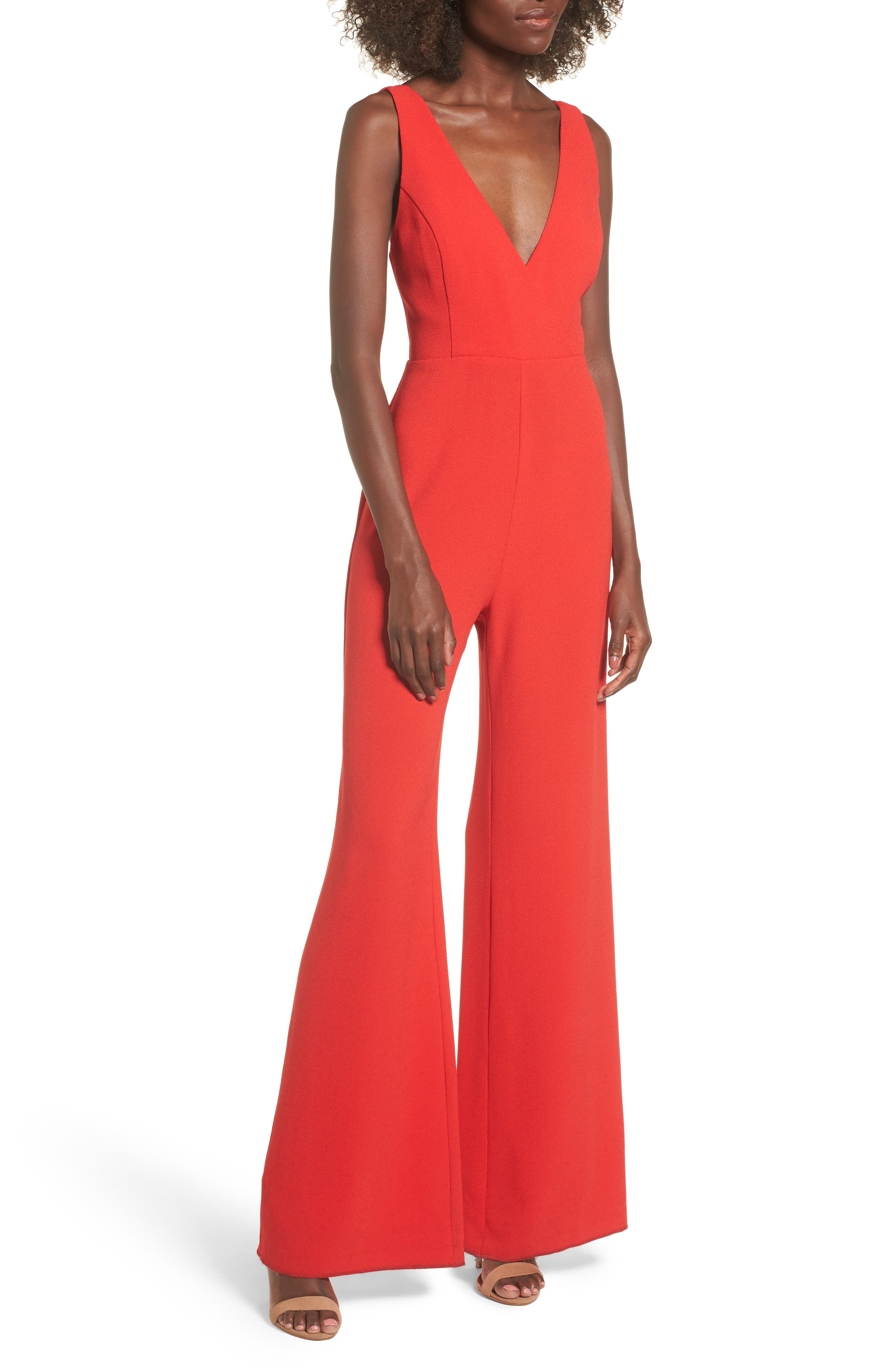 Curtis Jumpsuit,                         Main,                         color, Red