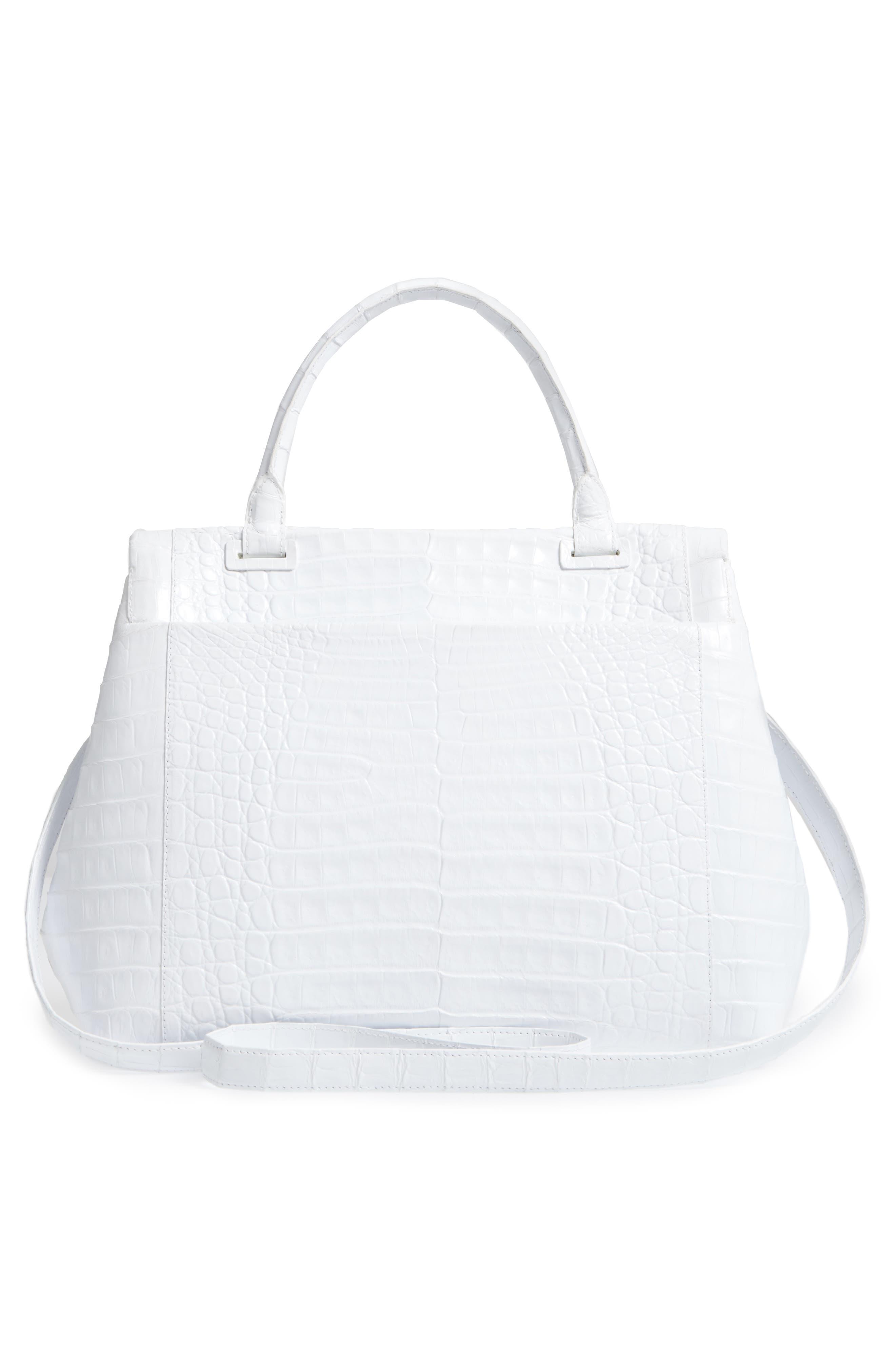Alternate Image 3  - Nancy Gonzalez Medium Sophie Genuine Crocodile Top Handle Bag